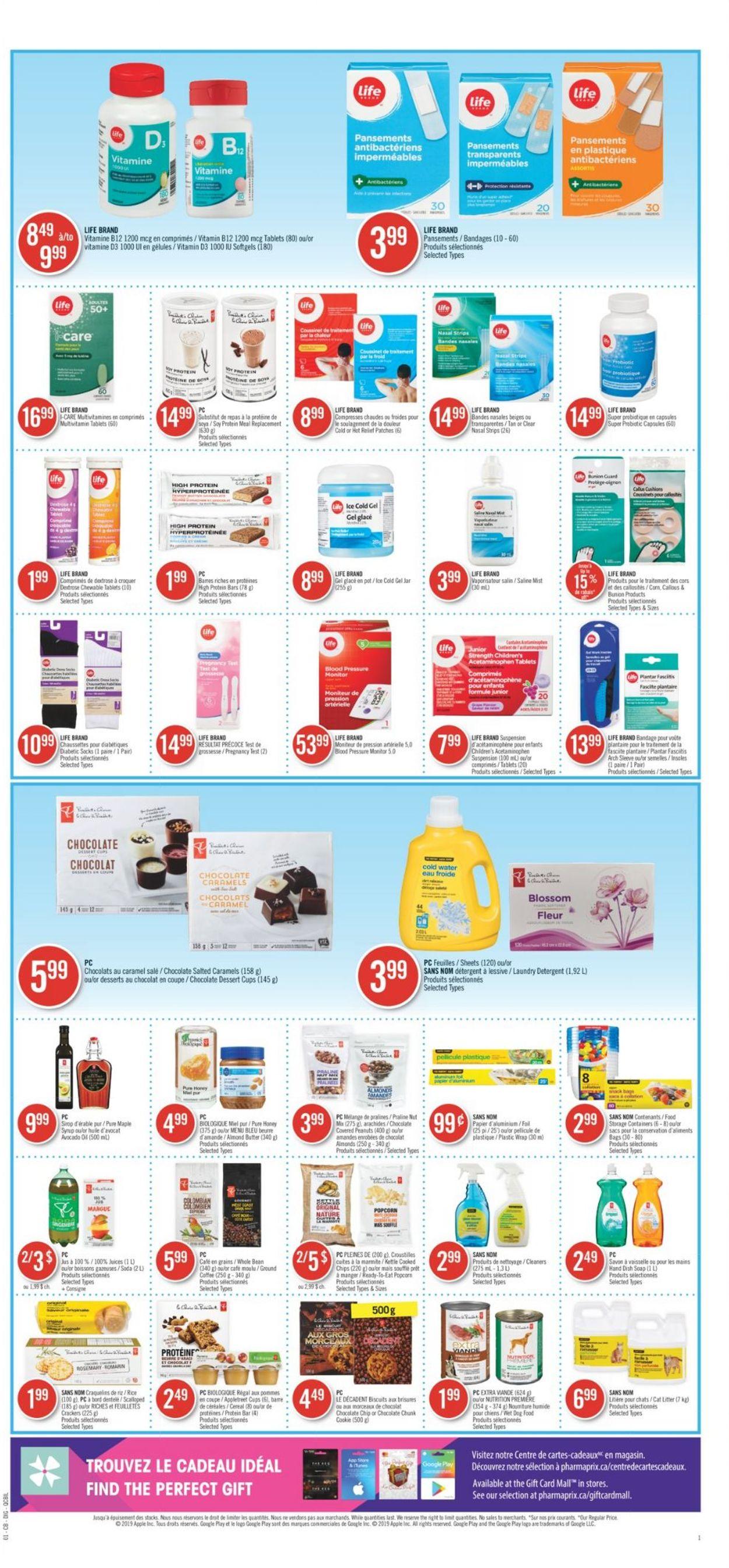 Pharmaprix Flyer - 07/25-07/30/2020 (Page 13)