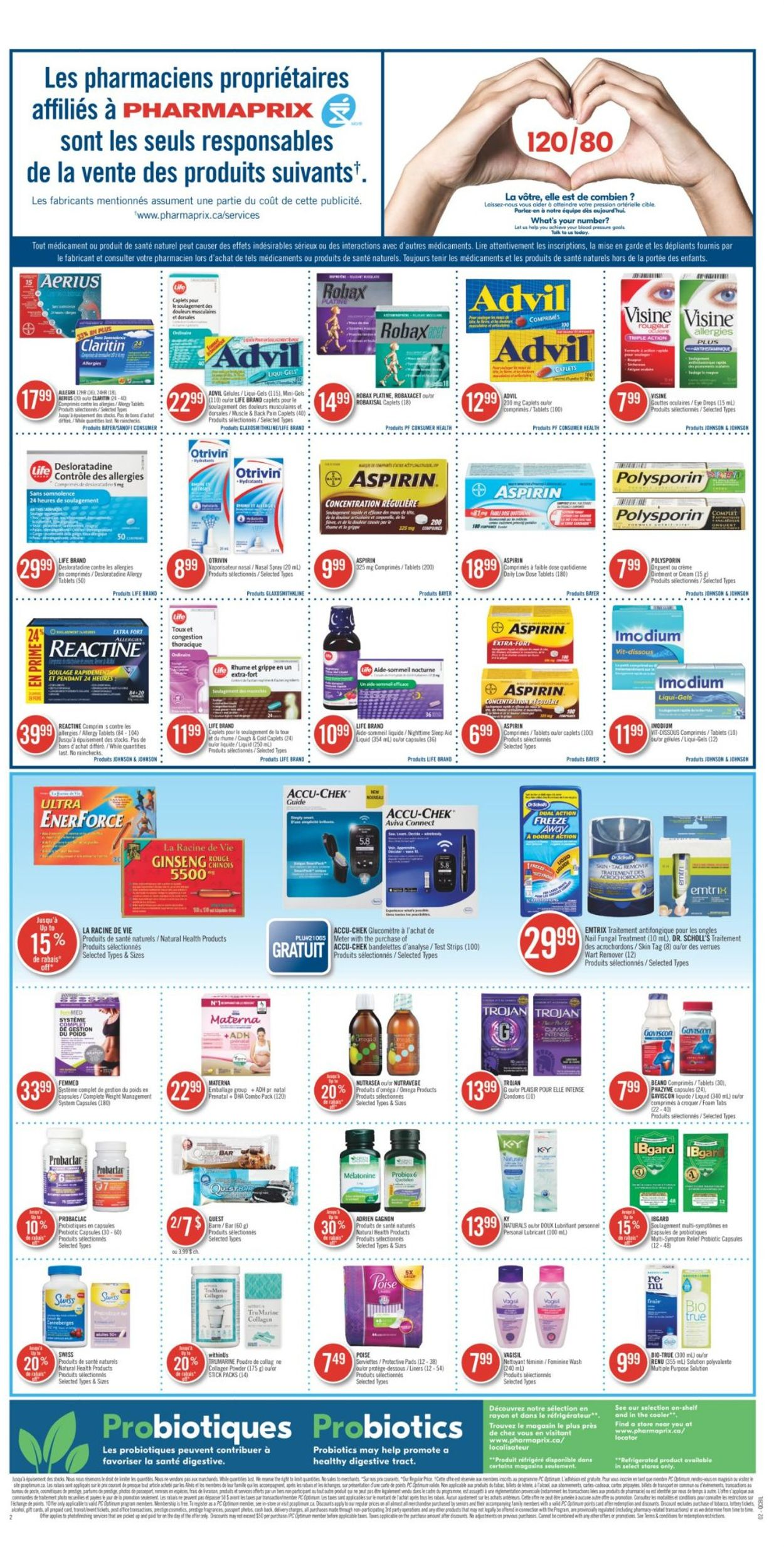 Pharmaprix Flyer - 08/01-08/07/2020 (Page 4)