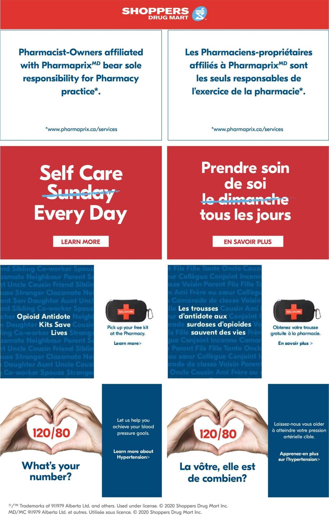 Pharmaprix Flyer - 08/29-09/03/2020