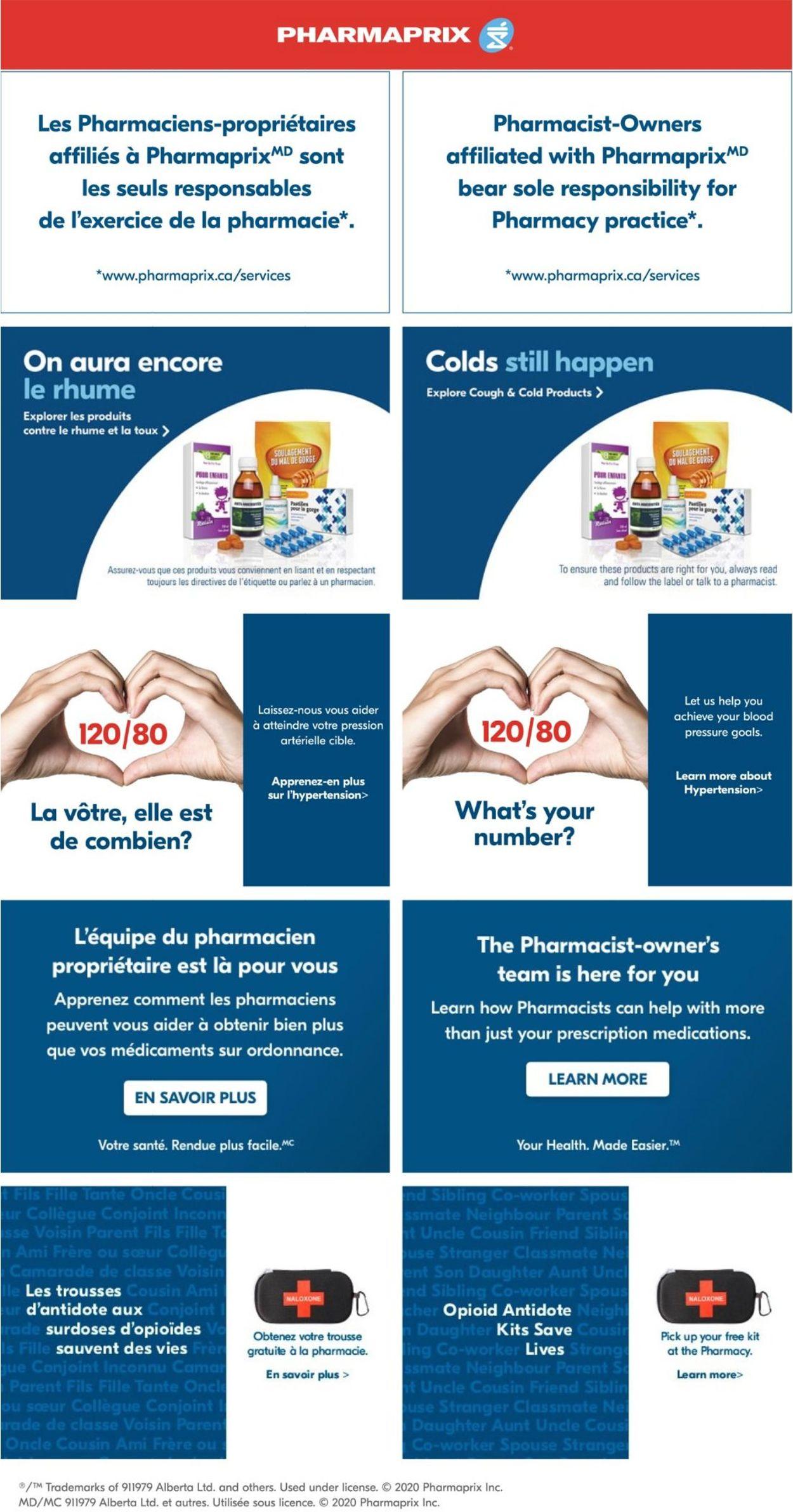 Pharmaprix Flyer - 09/19-09/25/2020