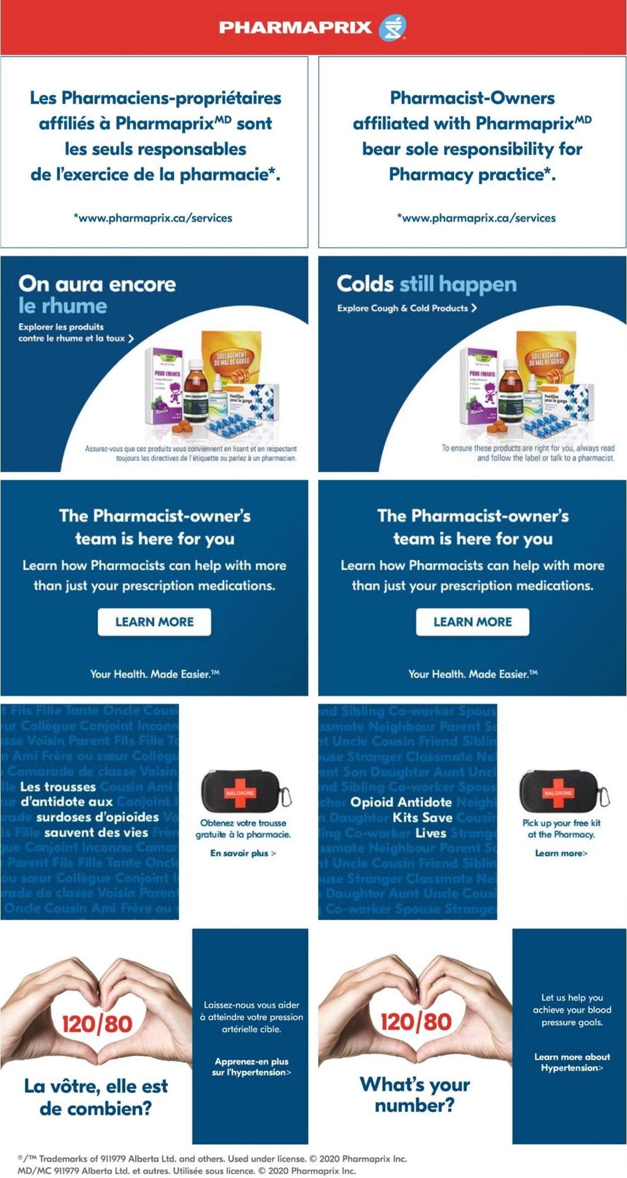 Pharmaprix Flyer - 10/03-10/08/2020