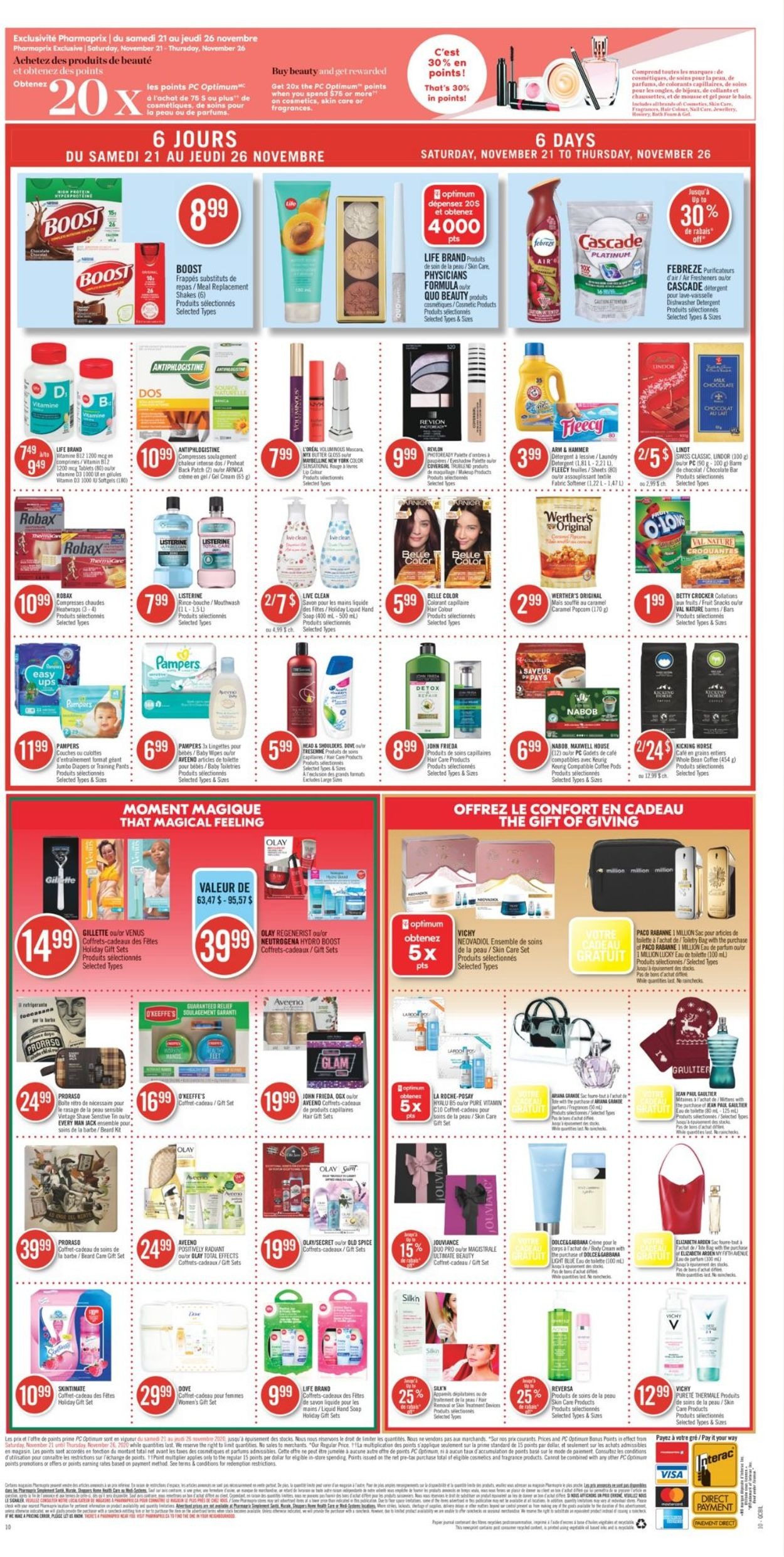 Pharmaprix Holiday 2020 Flyer - 11/21-11/26/2020 (Page 19)