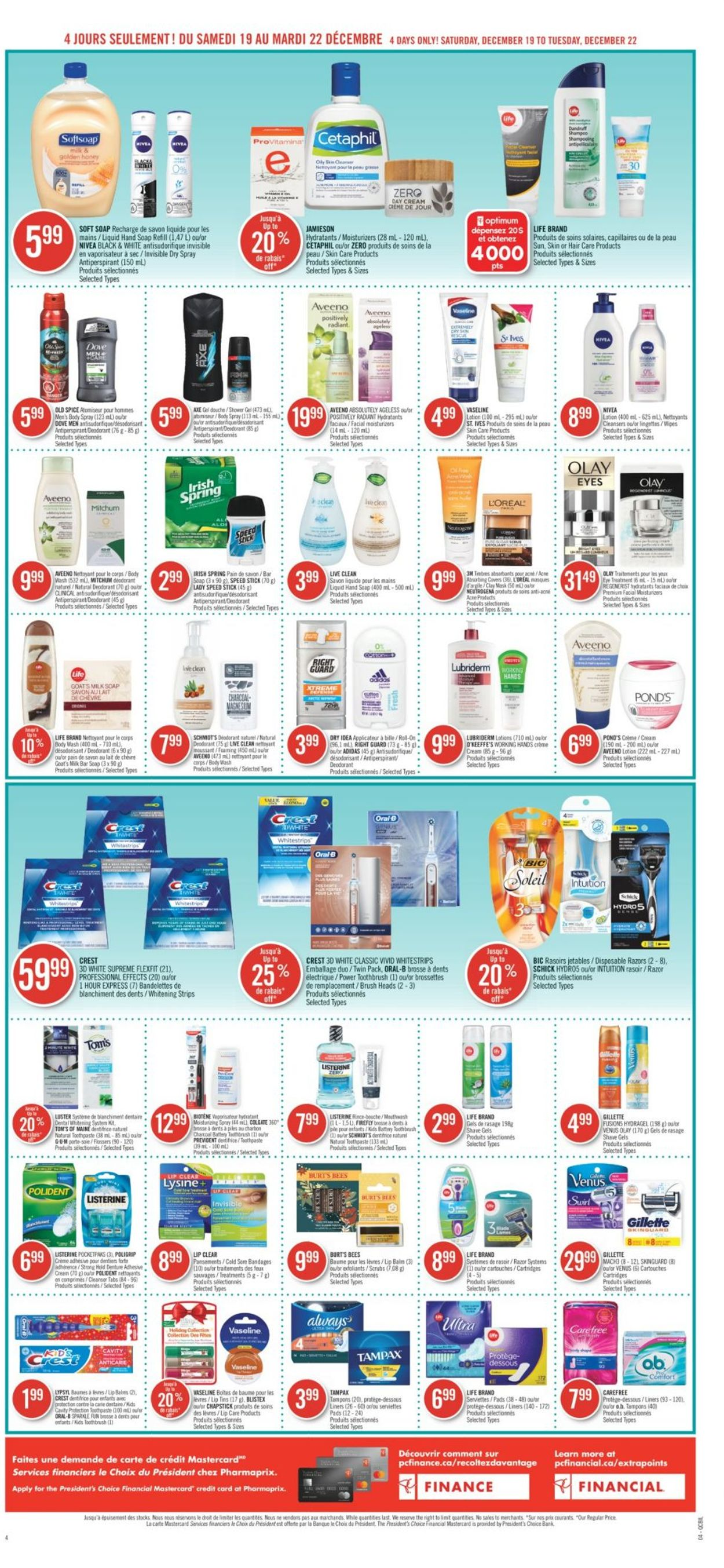 Pharmaprix - Holiday 2020 Flyer - 12/19-12/22/2020 (Page 9)