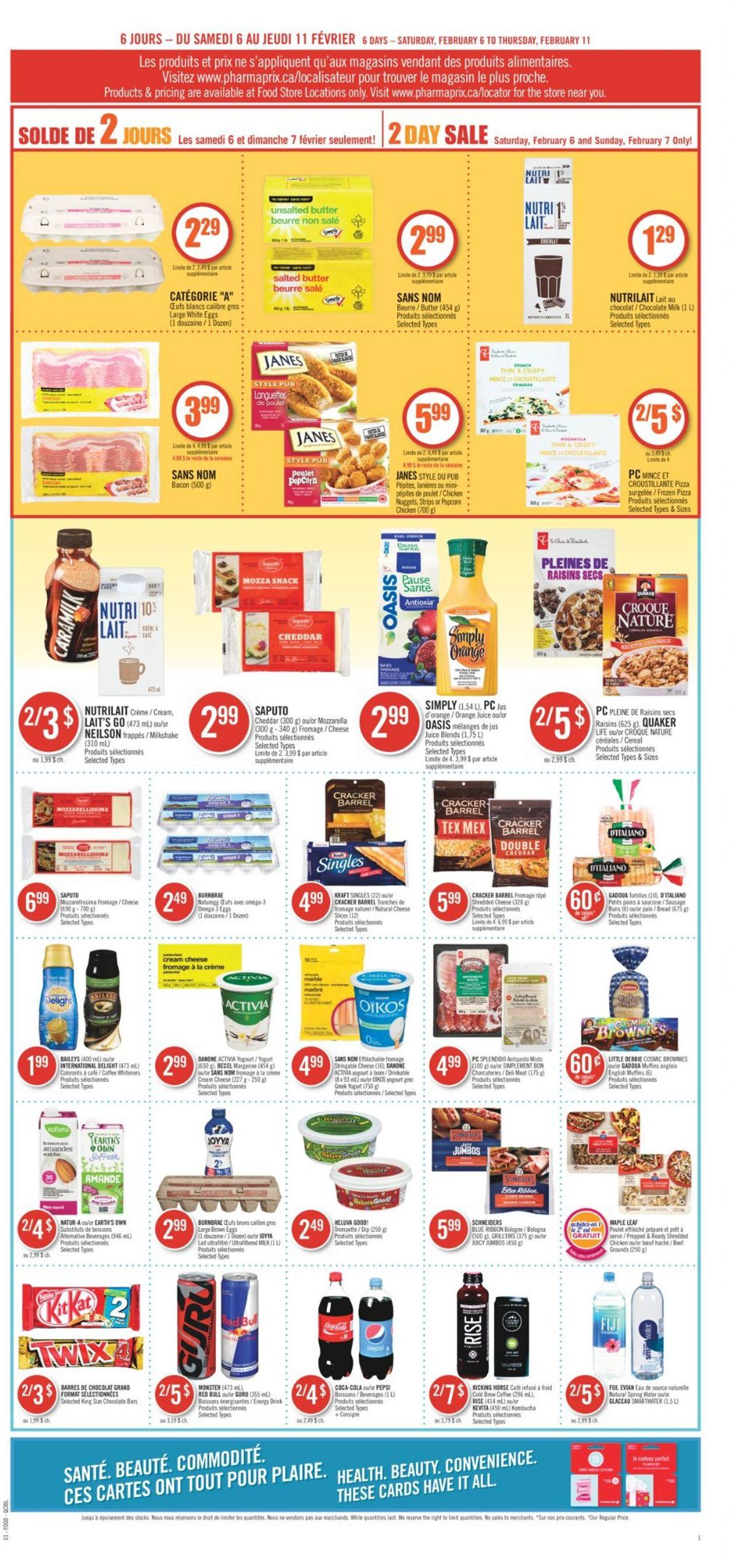 Pharmaprix Flyer - 02/06-02/11/2021 (Page 7)