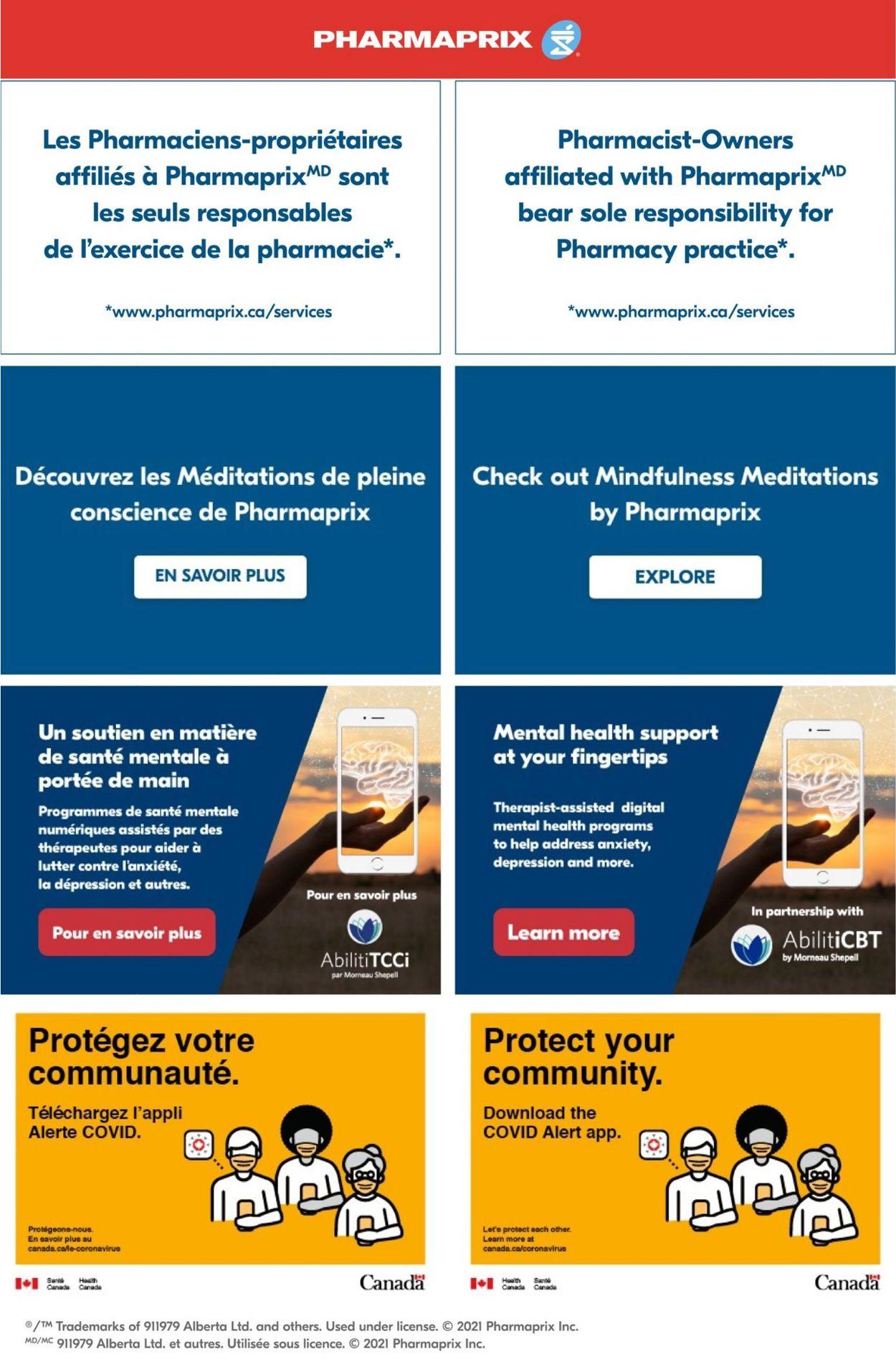 Pharmaprix Flyer - 02/20-02/26/2021