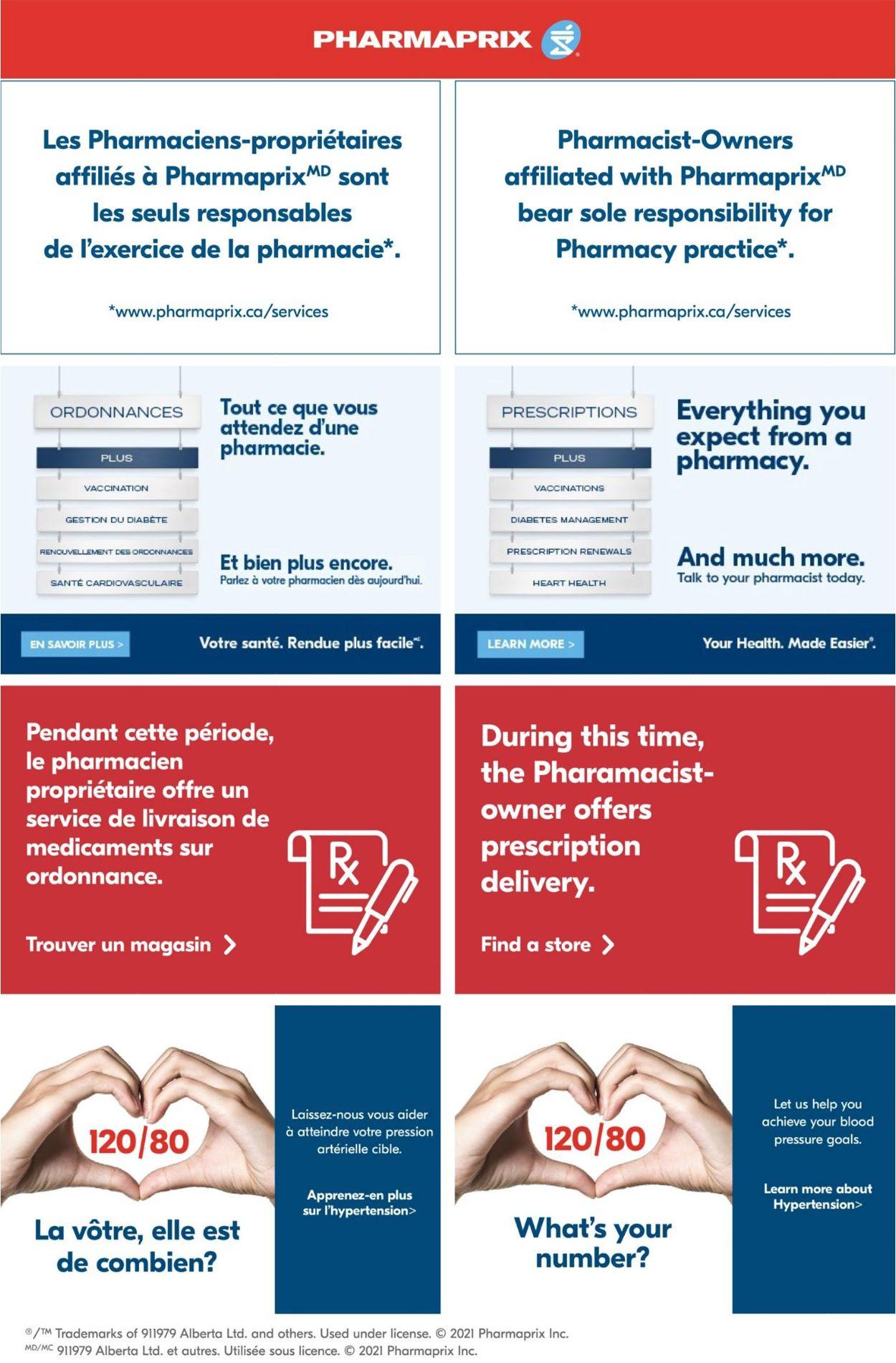 Pharmaprix Flyer - 02/27-03/04/2021