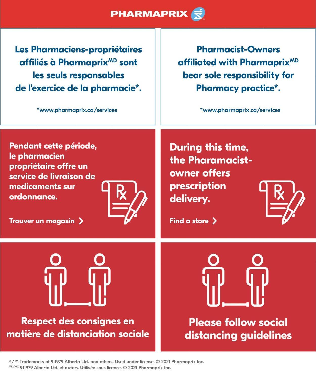 Pharmaprix Flyer - 03/13-03/18/2021