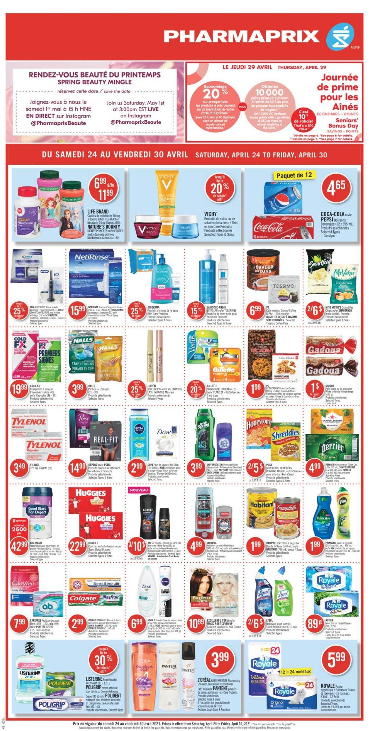 Pharmaprix Flyer - 04/24-04/30/2021 (Page 4)
