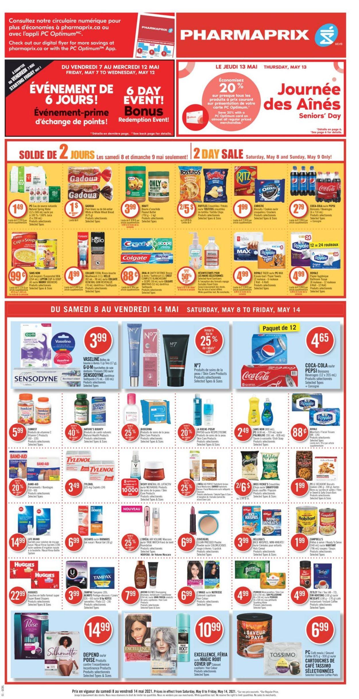 Pharmaprix Flyer - 05/08-05/14/2021 (Page 6)