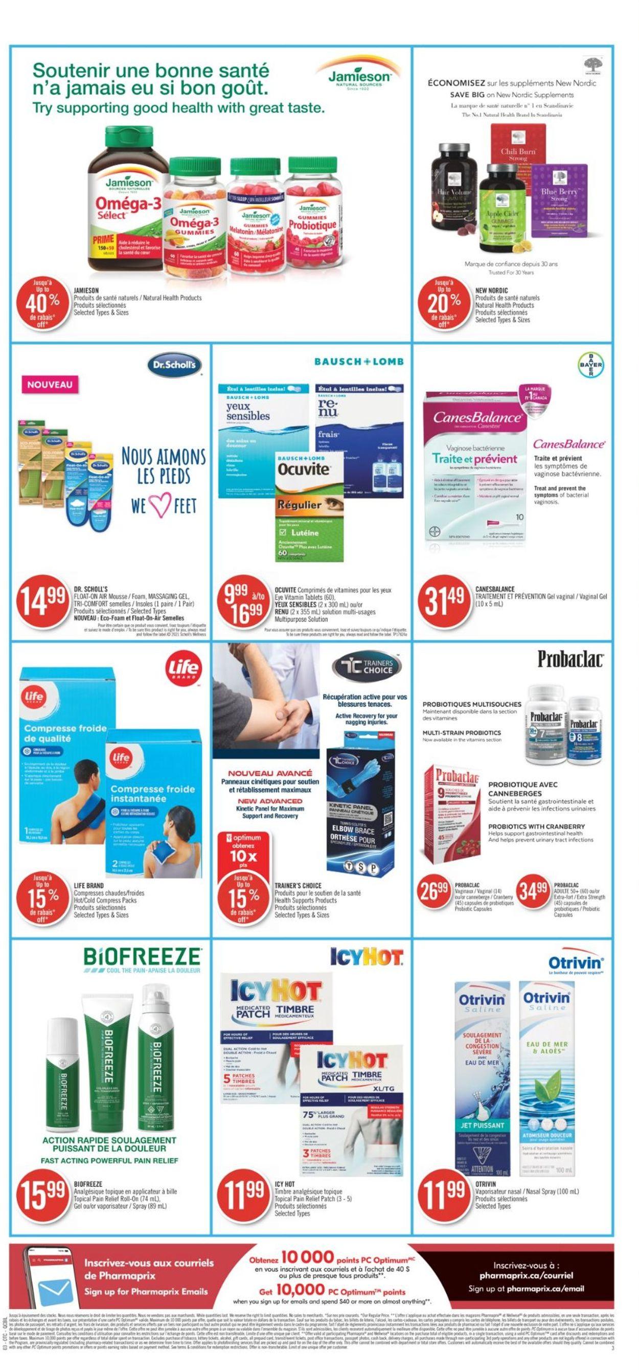 Pharmaprix Flyer - 05/08-05/14/2021 (Page 8)