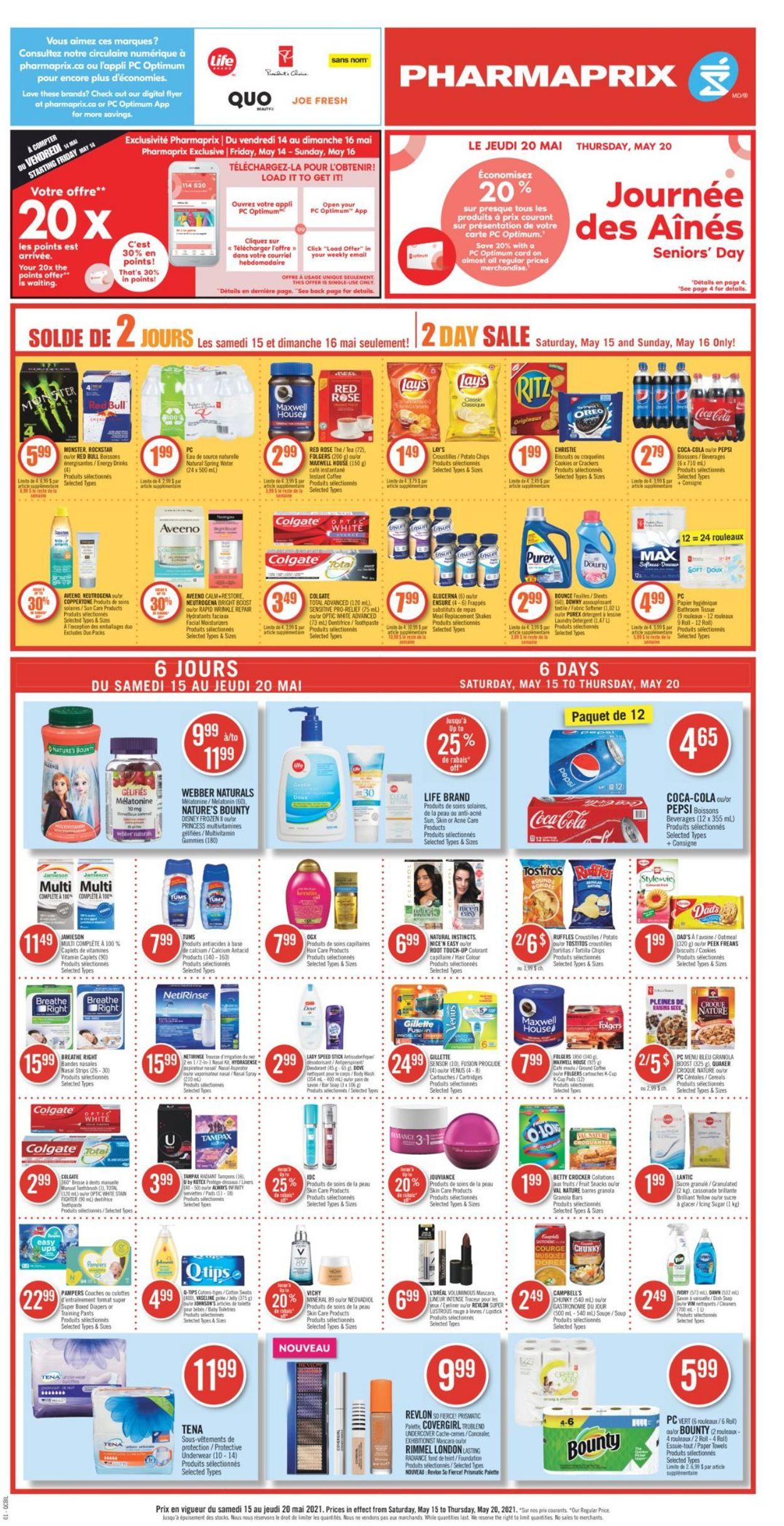 Pharmaprix Flyer - 05/15-05/20/2021 (Page 4)