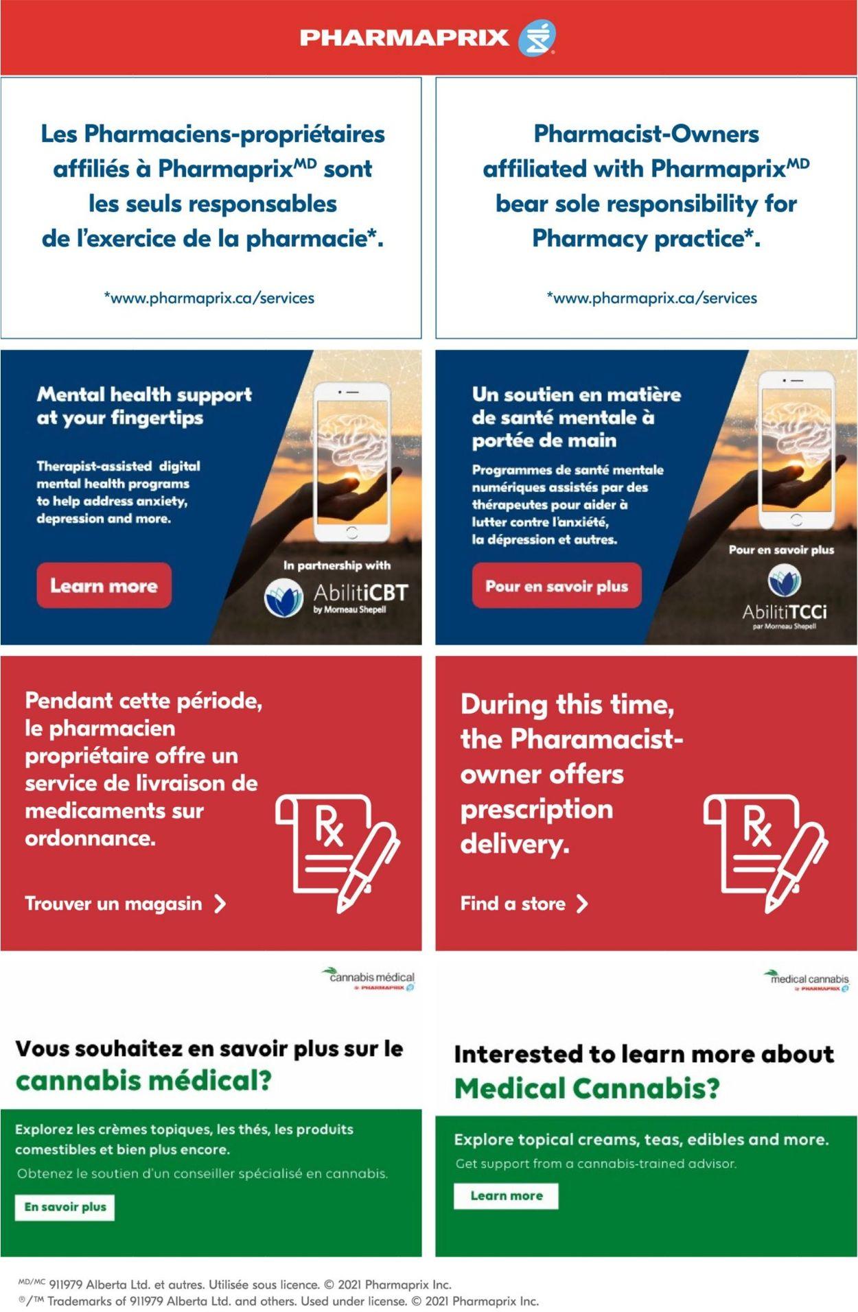 Pharmaprix Flyer - 05/29-06/04/2021
