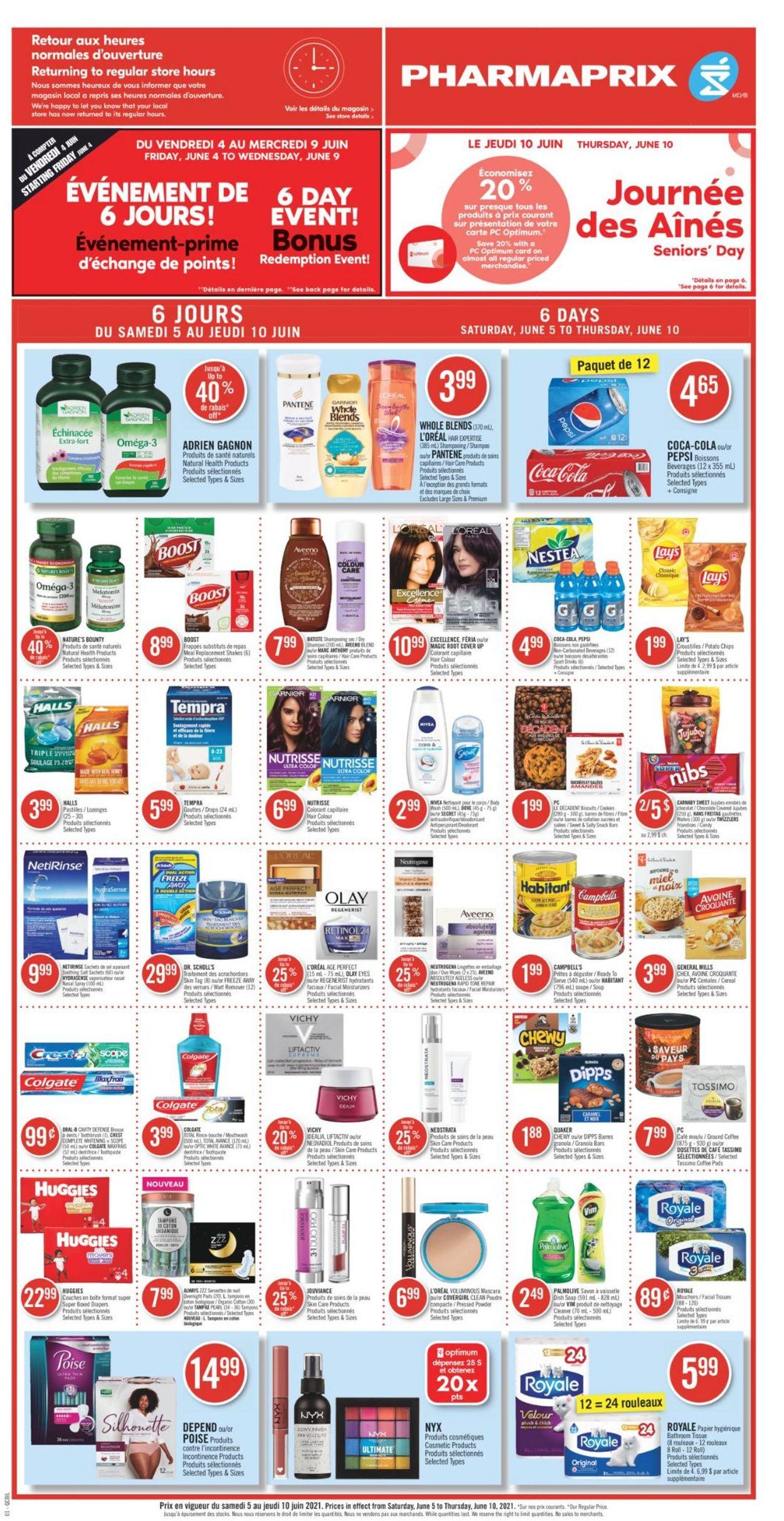 Pharmaprix Flyer - 06/05-06/10/2021 (Page 6)