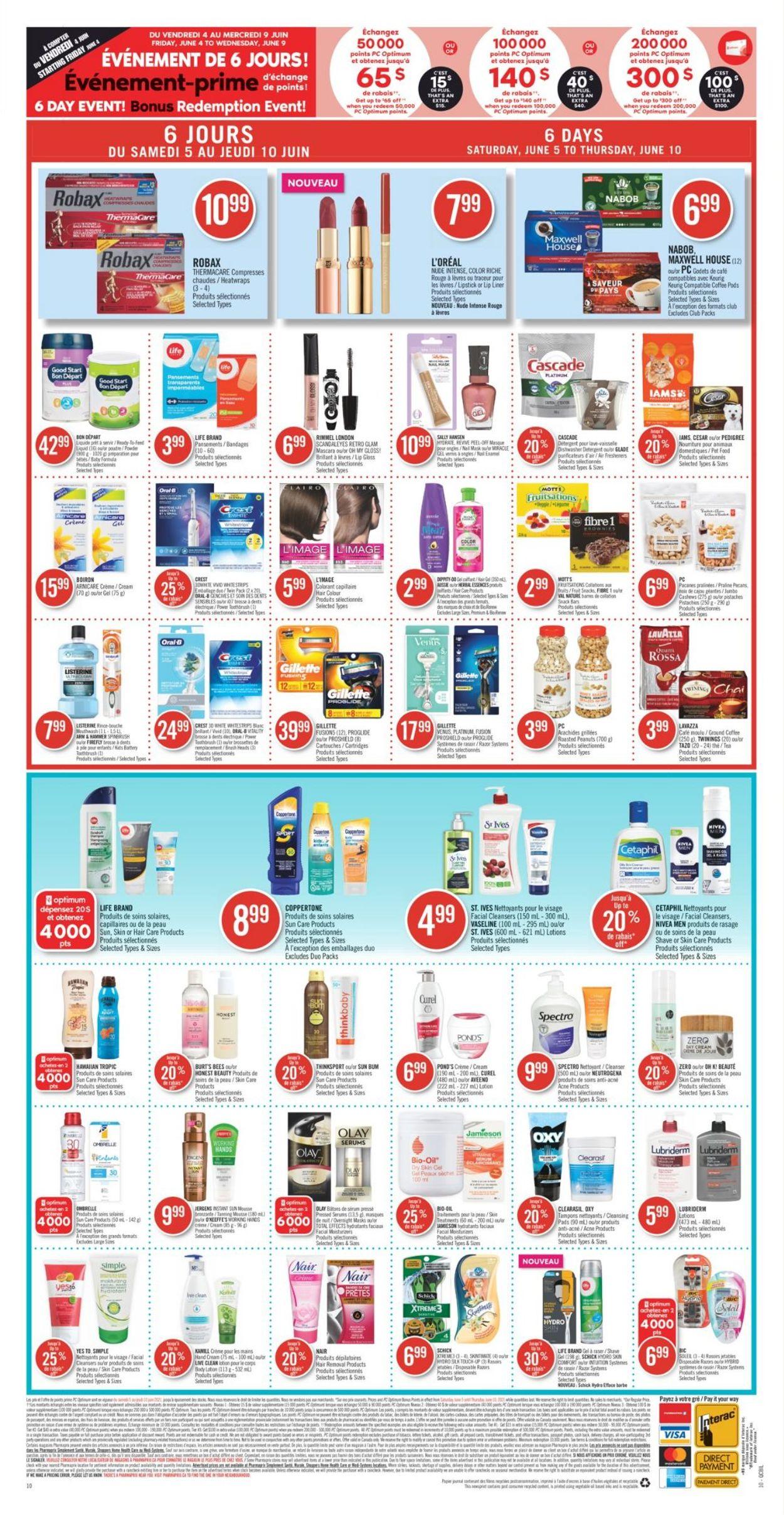 Pharmaprix Flyer - 06/05-06/10/2021 (Page 19)