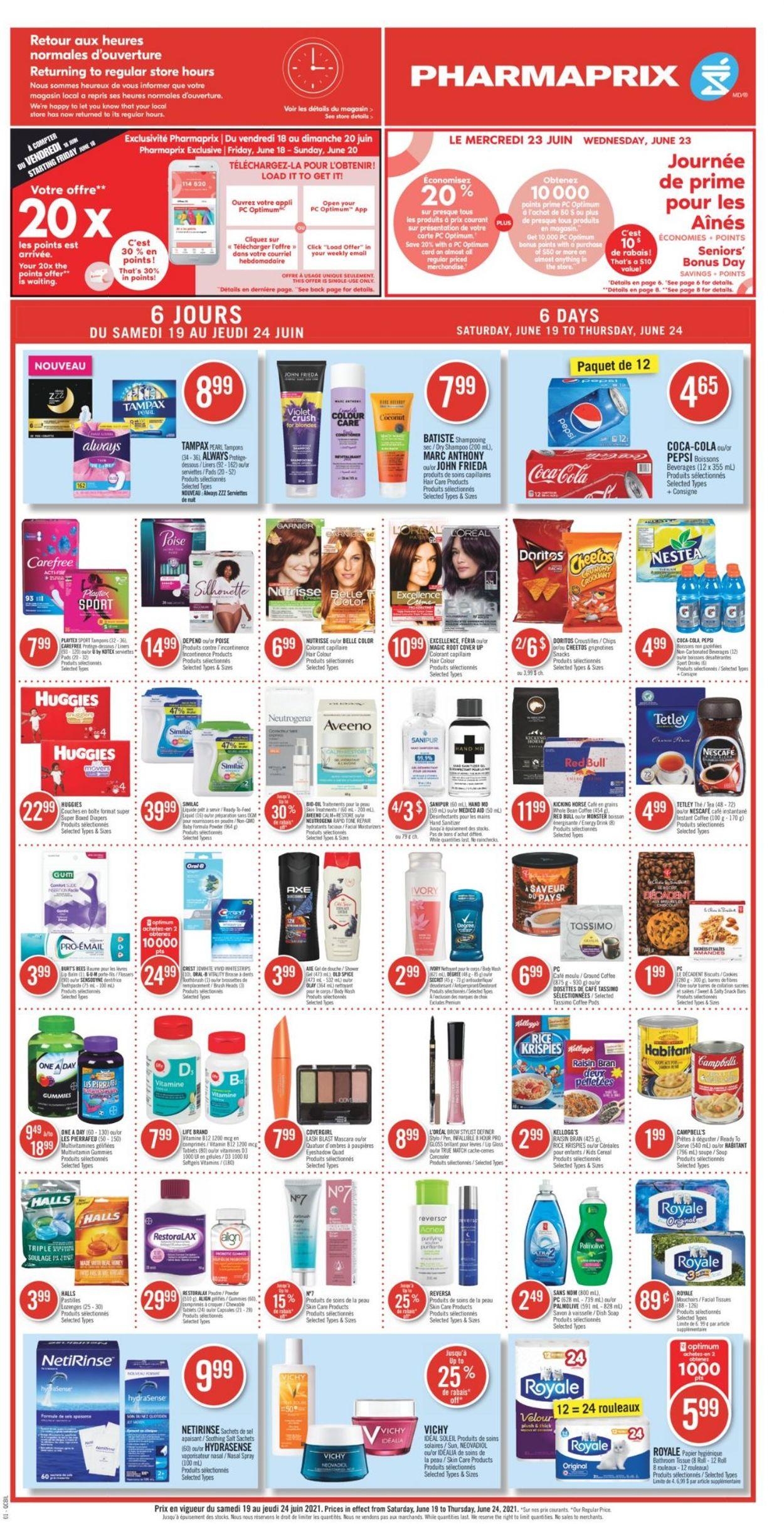Pharmaprix Flyer - 06/19-06/24/2021 (Page 3)