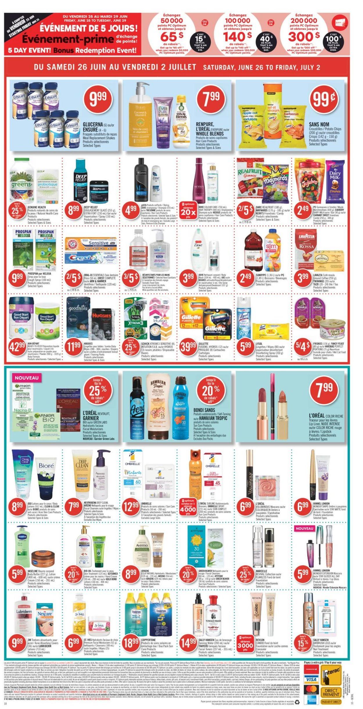 Pharmaprix Flyer - 06/26-07/02/2021 (Page 20)