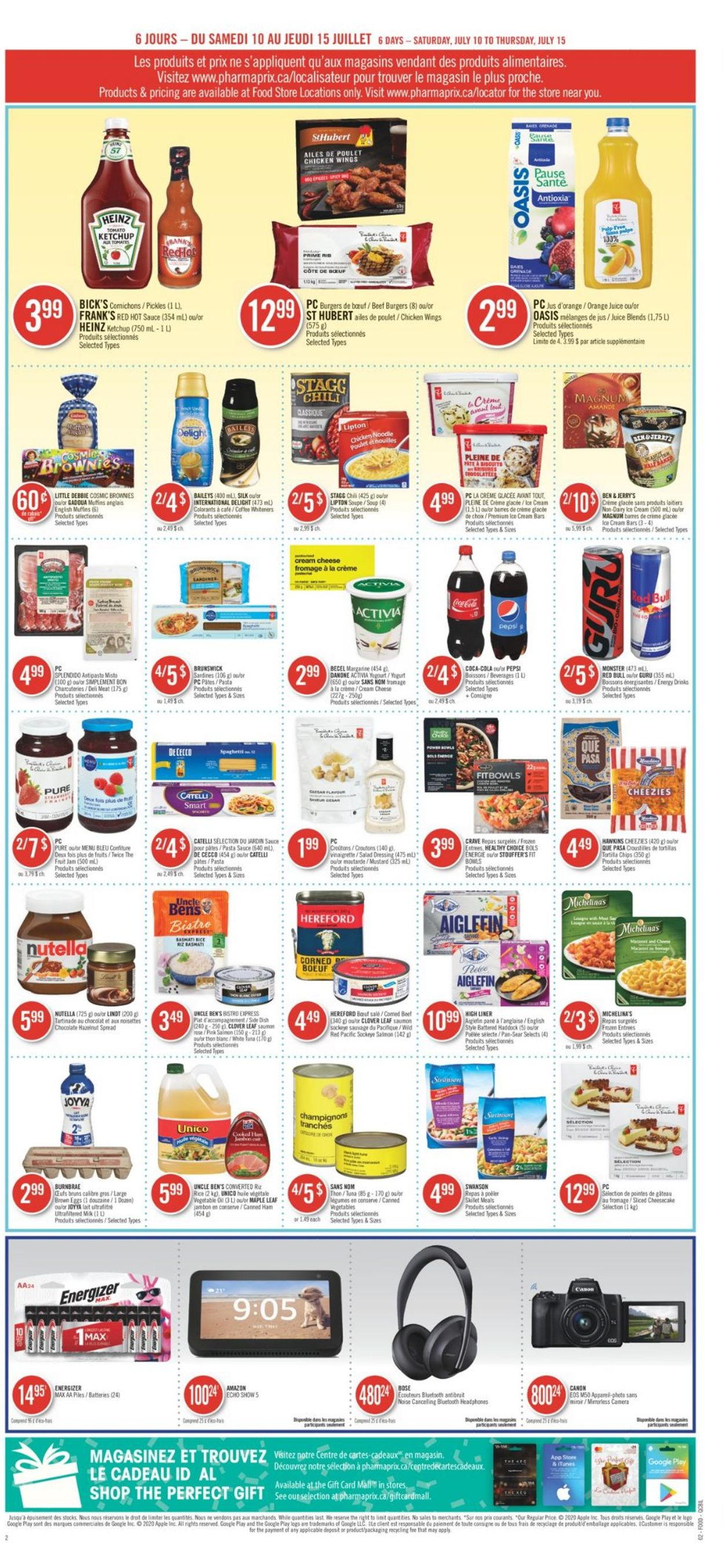 Pharmaprix Flyer - 07/10-07/15/2021 (Page 8)