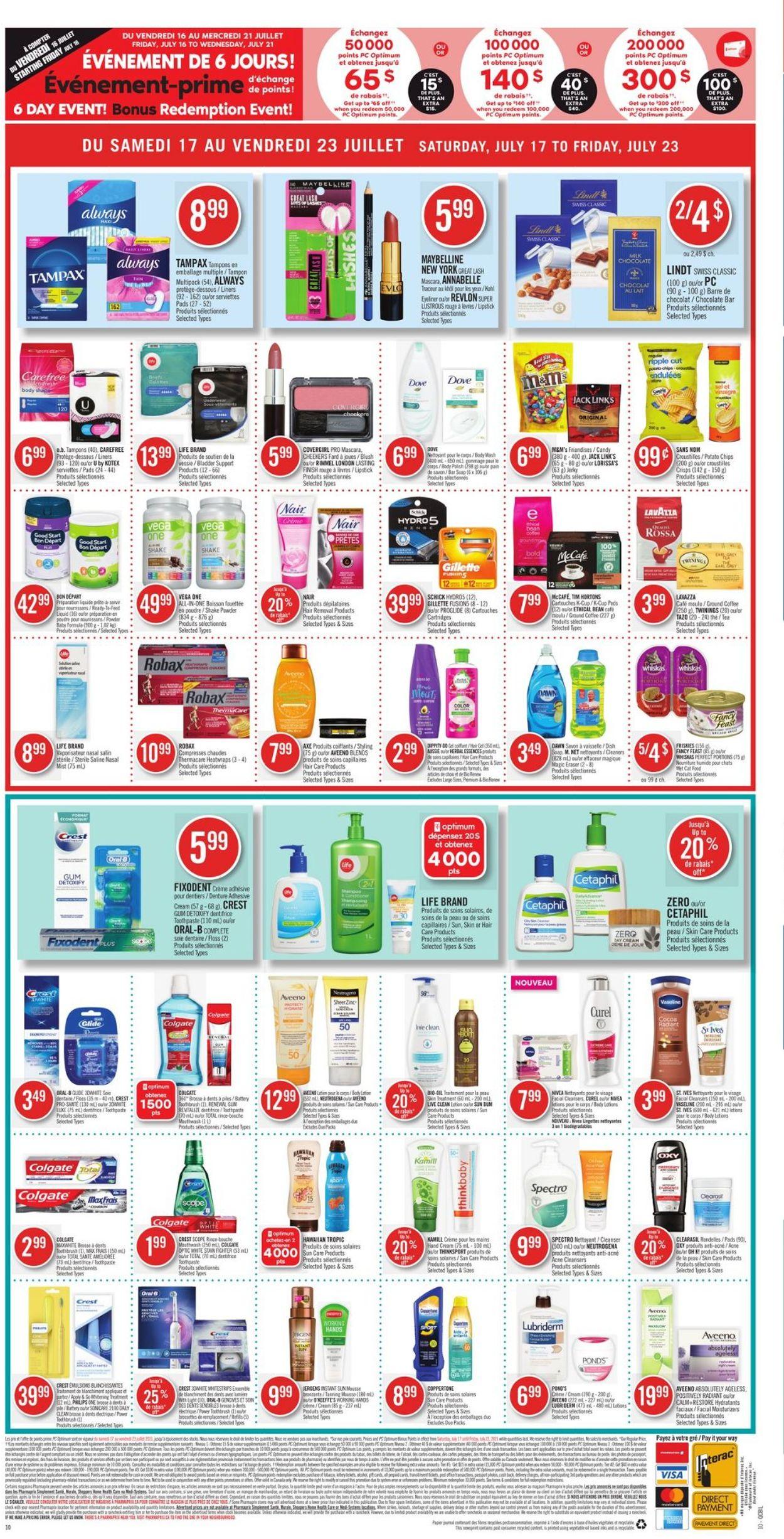 Pharmaprix Flyer - 07/17-07/23/2021 (Page 20)