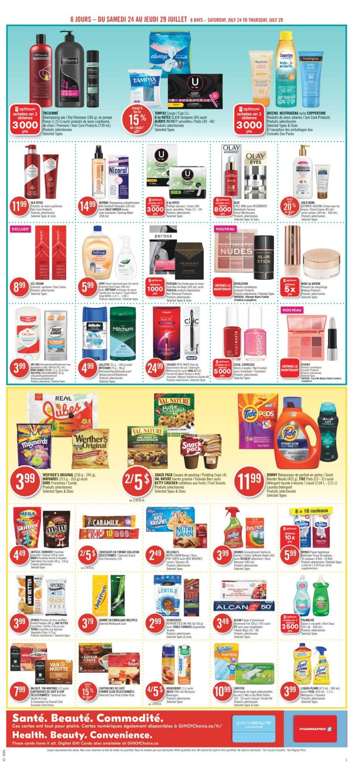 Pharmaprix Flyer - 07/24-07/29/2021 (Page 5)