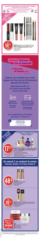 Pharmaprix Flyer - 10/02-10/08/2021