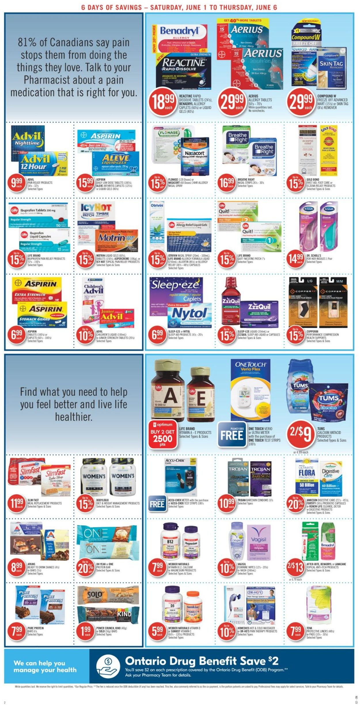 Pharmaprix Flyer - 06/01-06/06/2019 (Page 4)