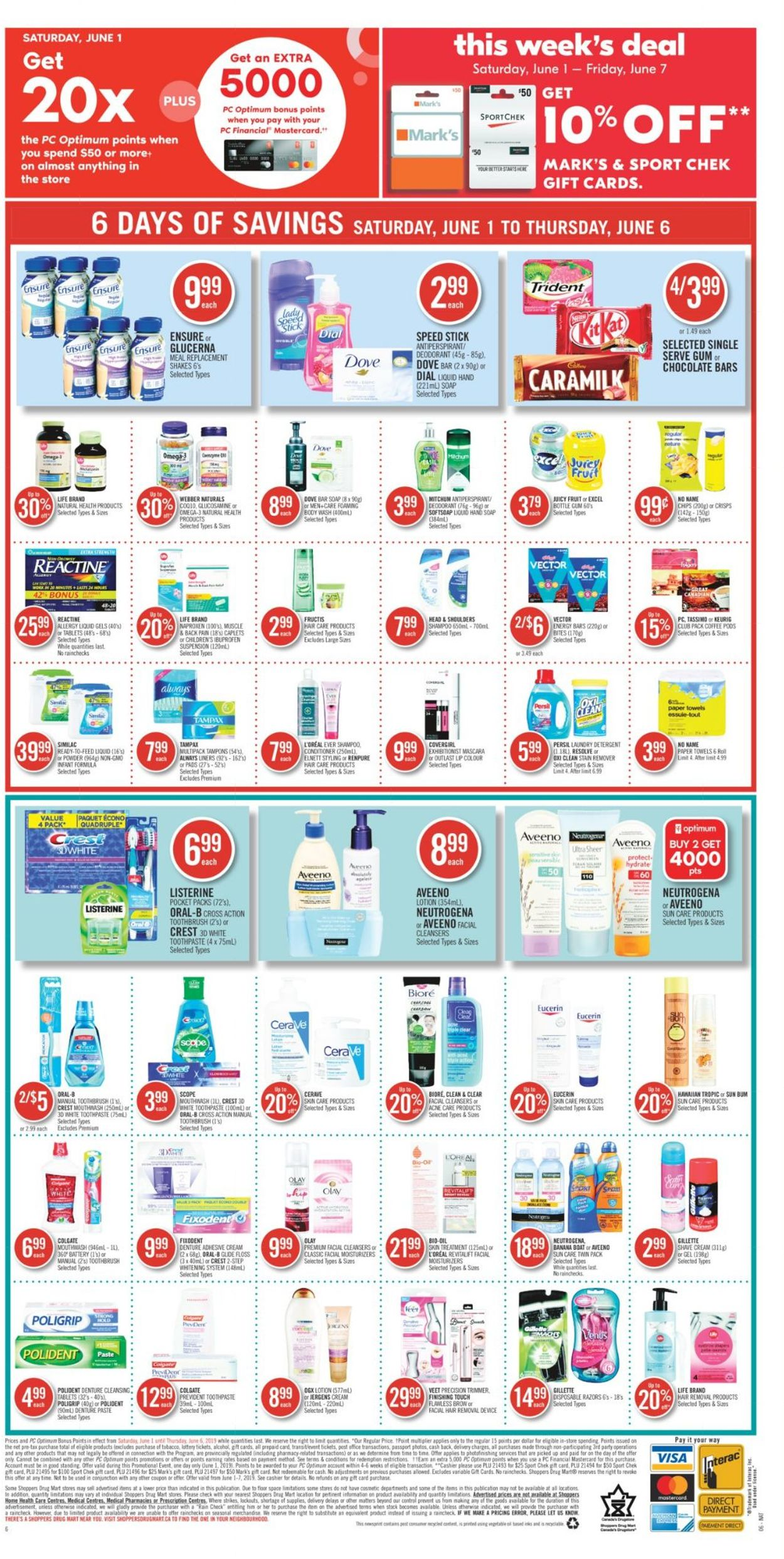 Pharmaprix Flyer - 06/01-06/06/2019 (Page 19)