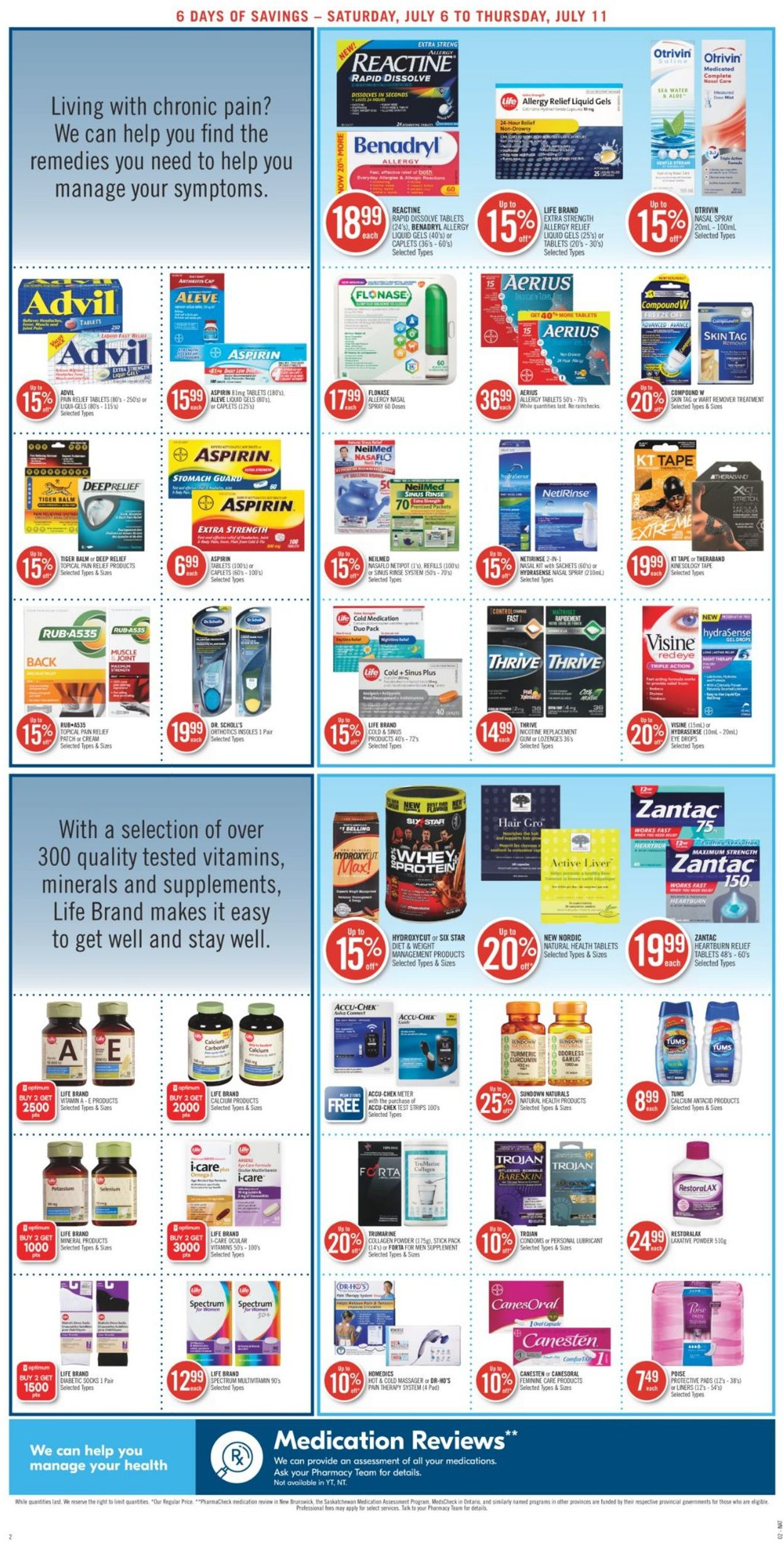 Pharmaprix Flyer - 07/06-07/11/2019 (Page 4)