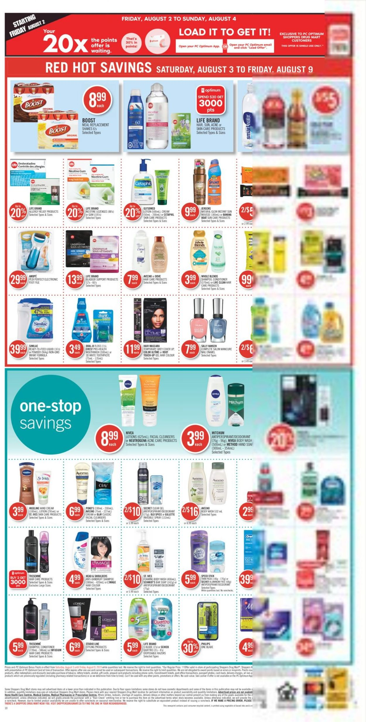 Pharmaprix Flyer - 08/03-08/09/2019 (Page 18)