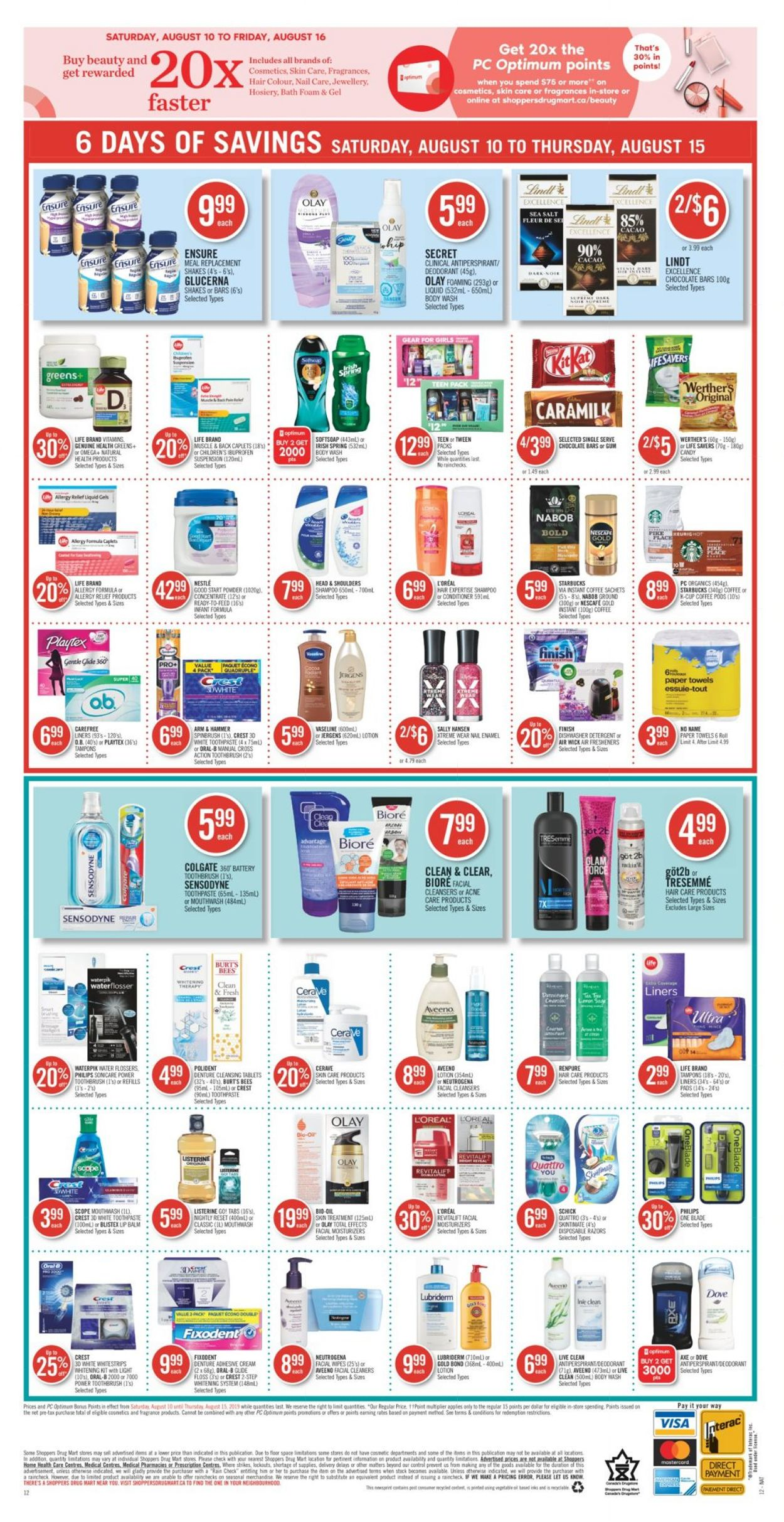 Pharmaprix Flyer - 08/10-08/15/2019 (Page 22)