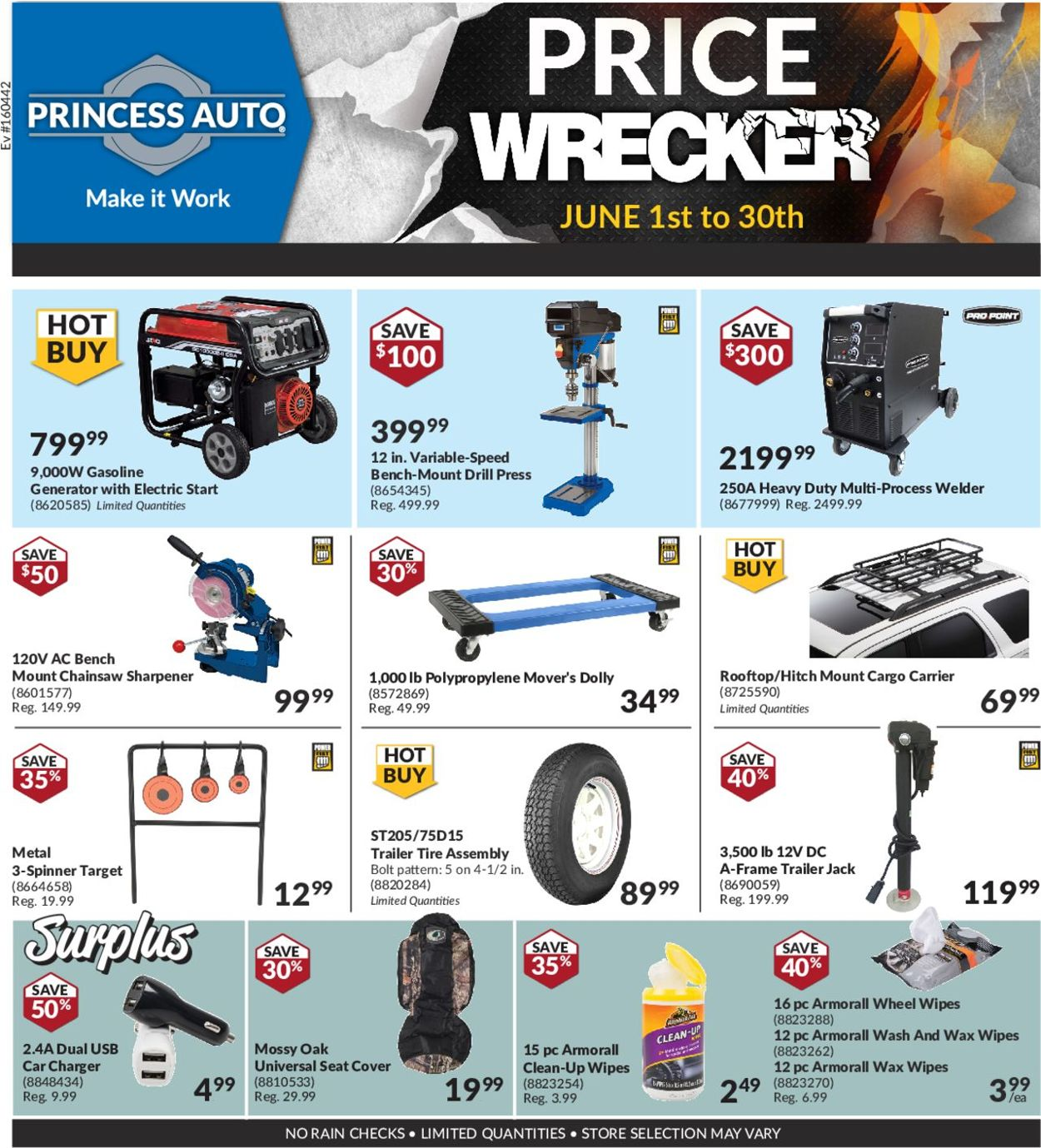 Princess Auto Flyer - 06/01-06/30/2019