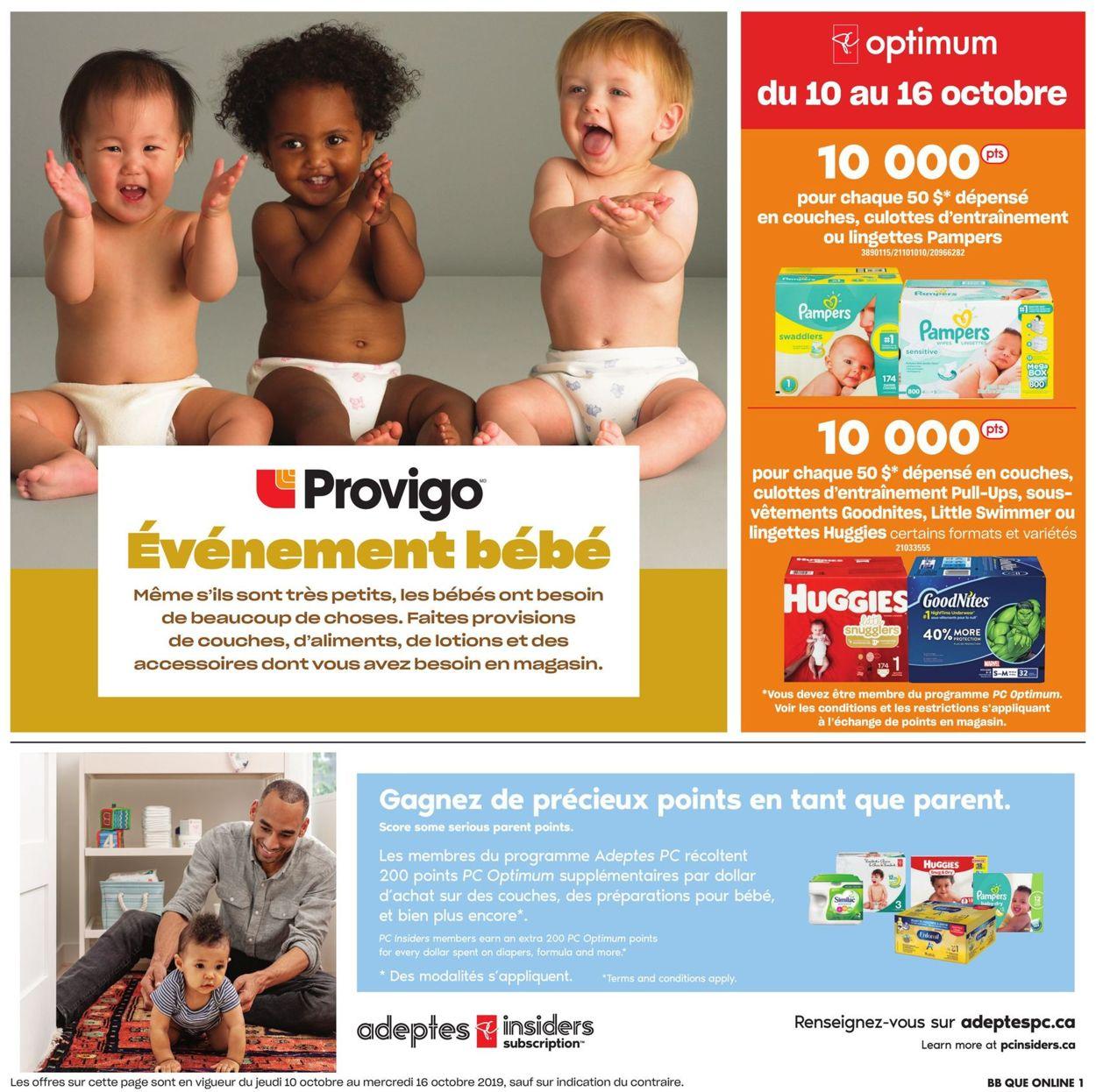 Provigo Flyer - 10/10-10/16/2019