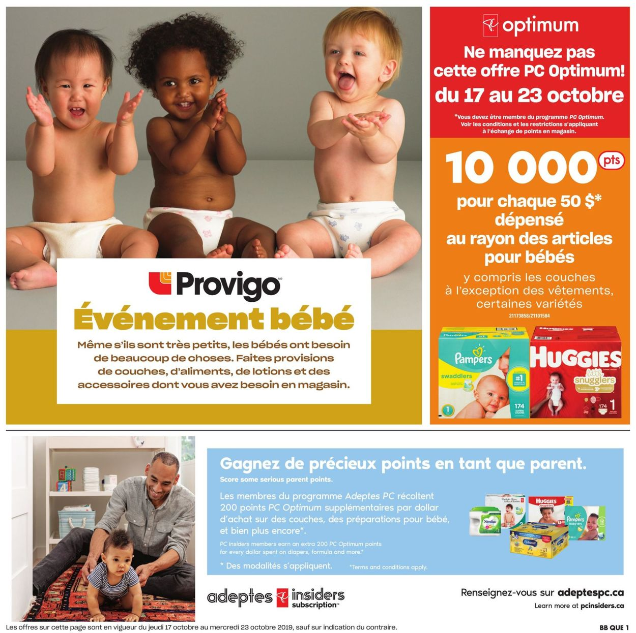Provigo Flyer - 10/17-10/23/2019