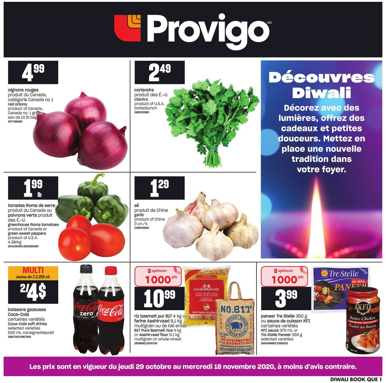 Provigo Flyer - 10/29-11/18/2020