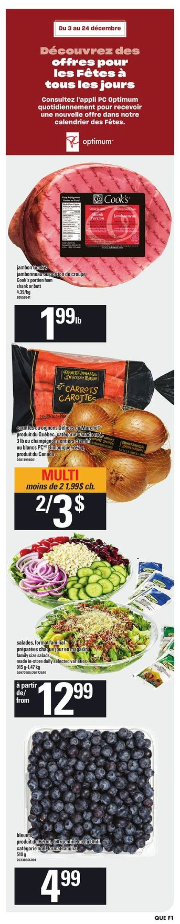 Provigo - Holiday 2020 Flyer - 12/10-12/16/2020