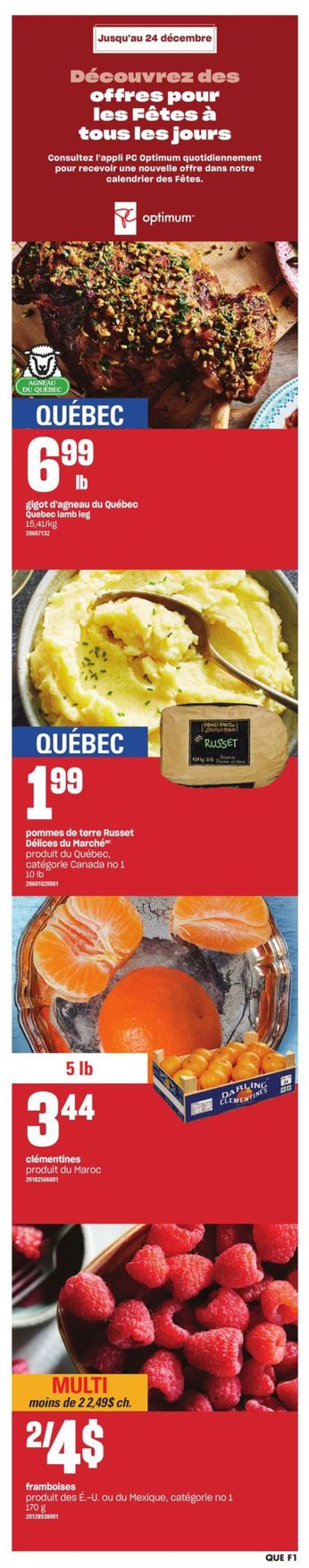 Provigo - Holiday 2020 Flyer - 12/17-12/26/2020