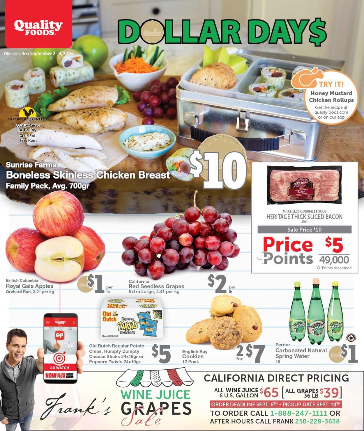 Quality Foods Flyer - 09/02-09/08/2019