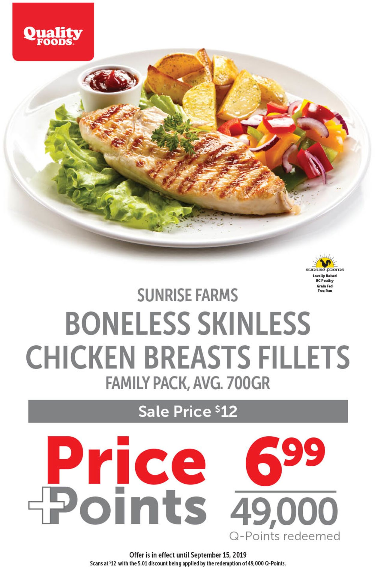 Quality Foods Flyer - 09/09-09/15/2019