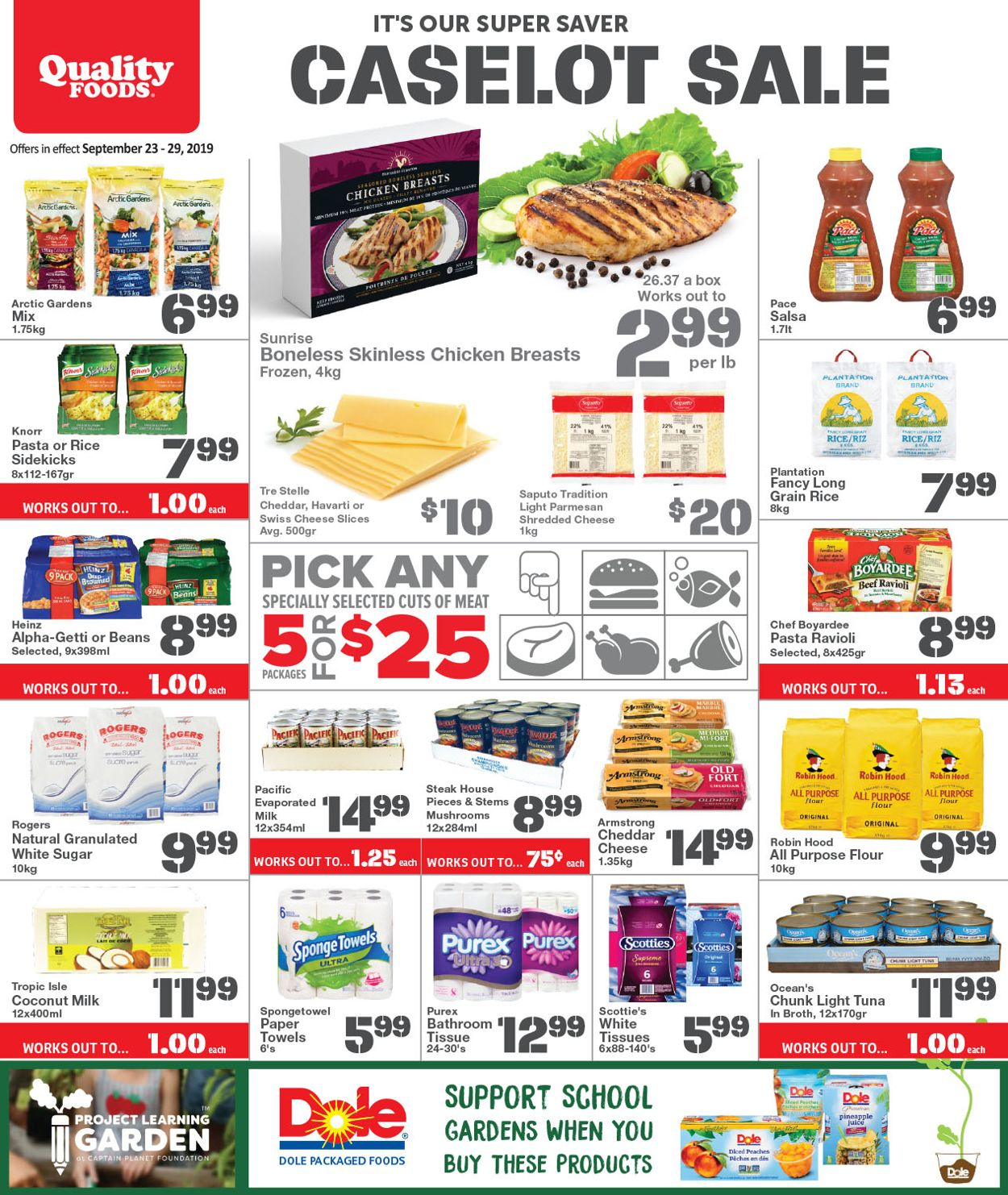 Quality Foods Flyer - 09/23-09/29/2019
