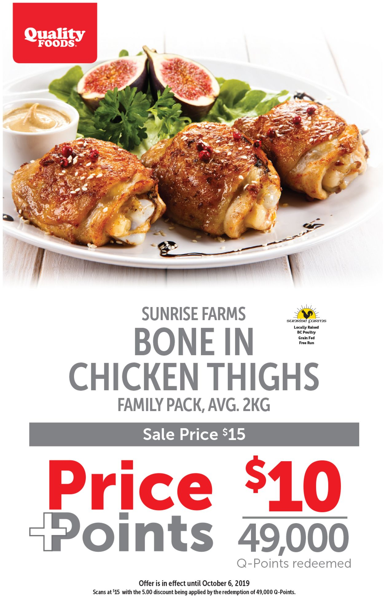 Quality Foods Flyer - 09/30-10/06/2019