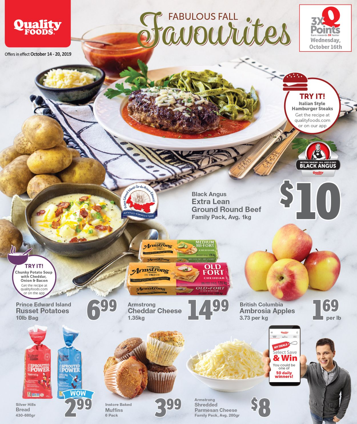 Quality Foods Flyer - 10/14-10/20/2019