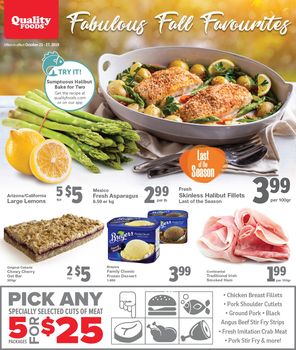 Quality Foods Flyer - 10/21-10/27/2019
