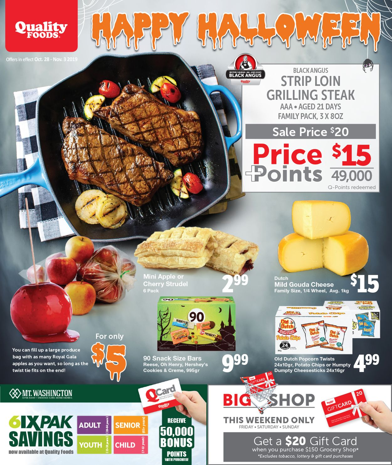 Quality Foods Flyer - 10/28-11/03/2019