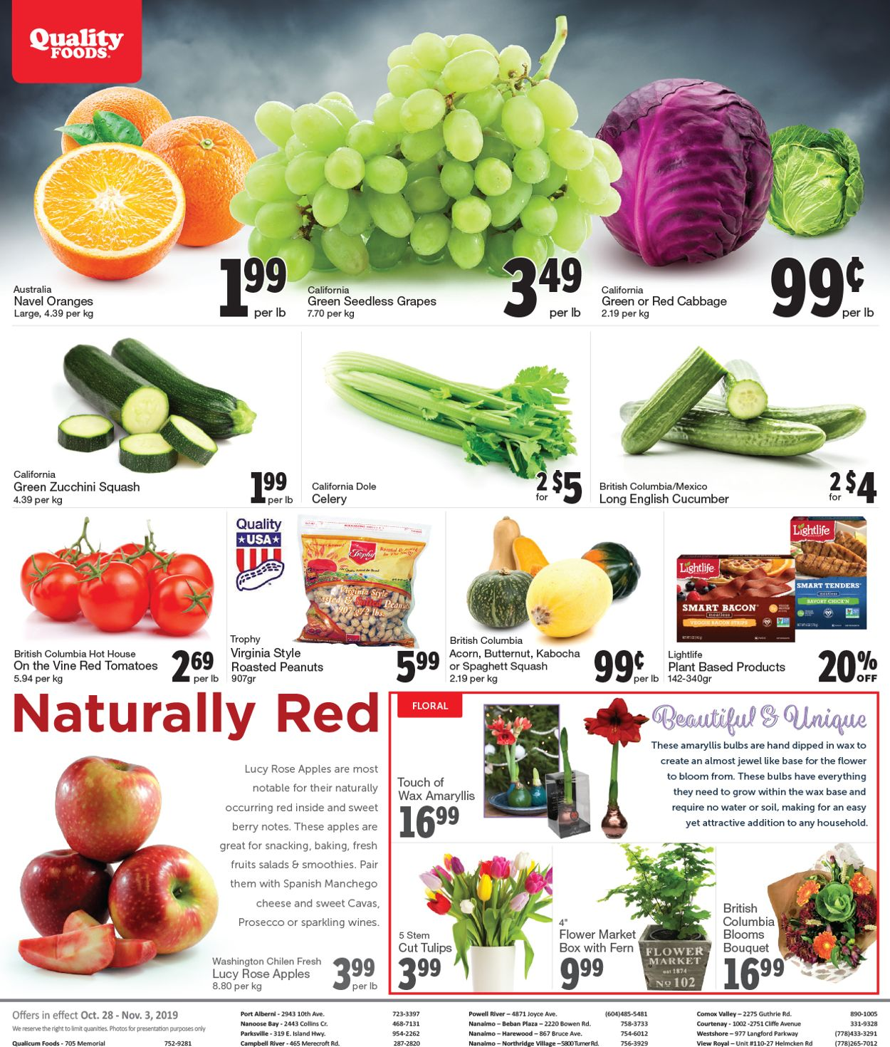 Quality Foods Flyer - 10/28-11/03/2019 (Page 7)