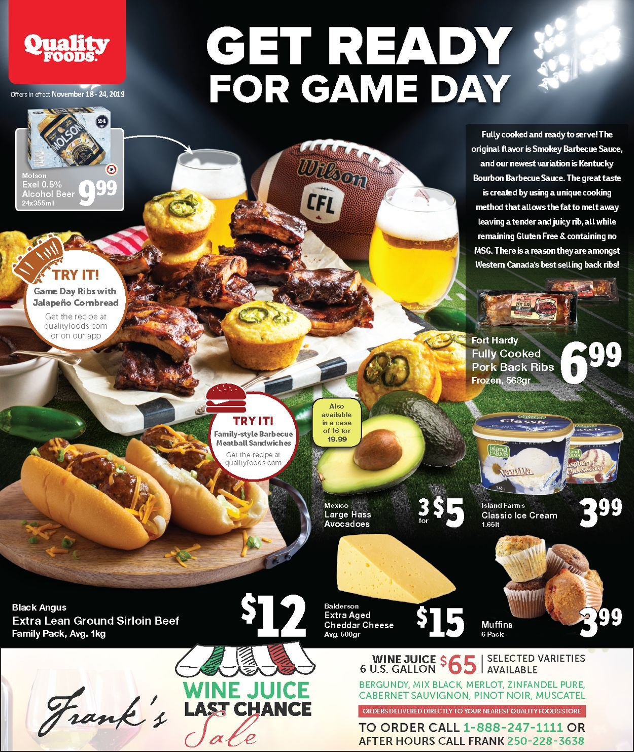 Quality Foods Flyer - 11/18-11/24/2019
