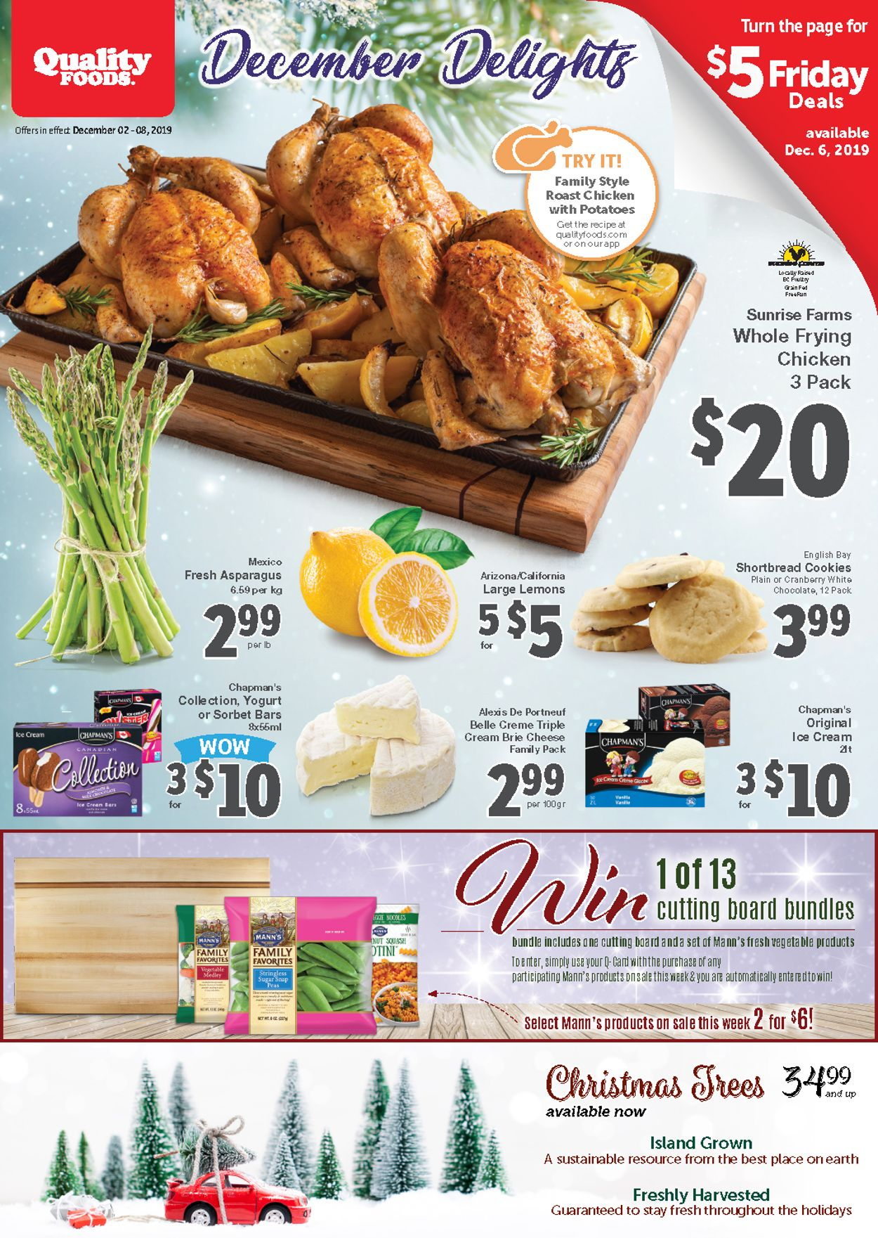 Quality Foods Flyer - 12/02-12/08/2019
