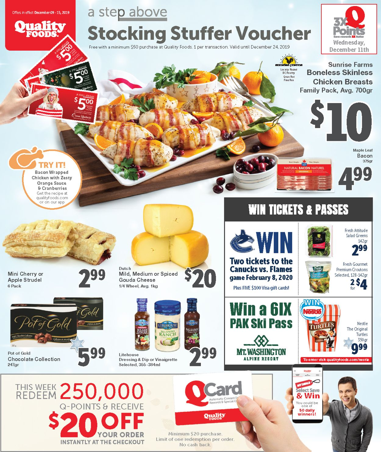 Quality Foods Flyer - 12/09-12/15/2019