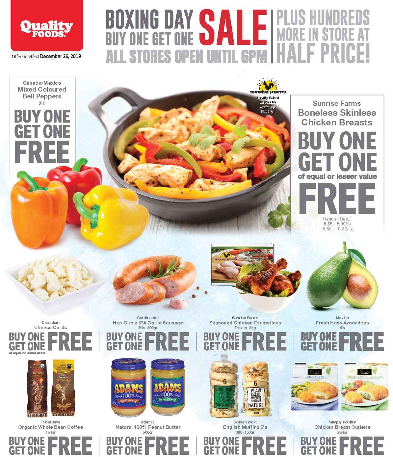 Quality Foods Flyer - 12/23-12/26/2019