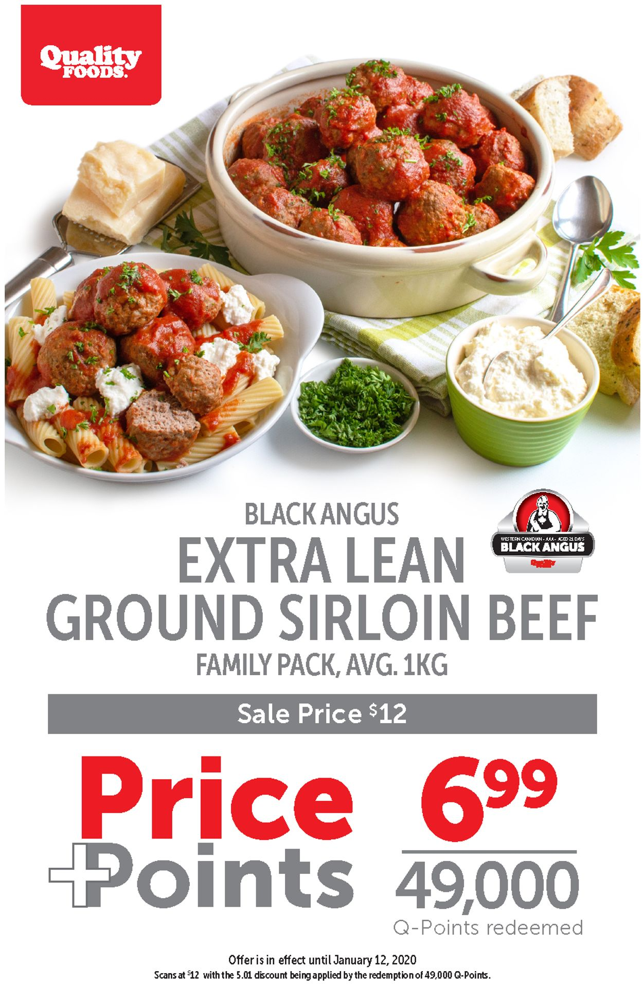 Quality Foods Flyer - 01/06-01/12/2020