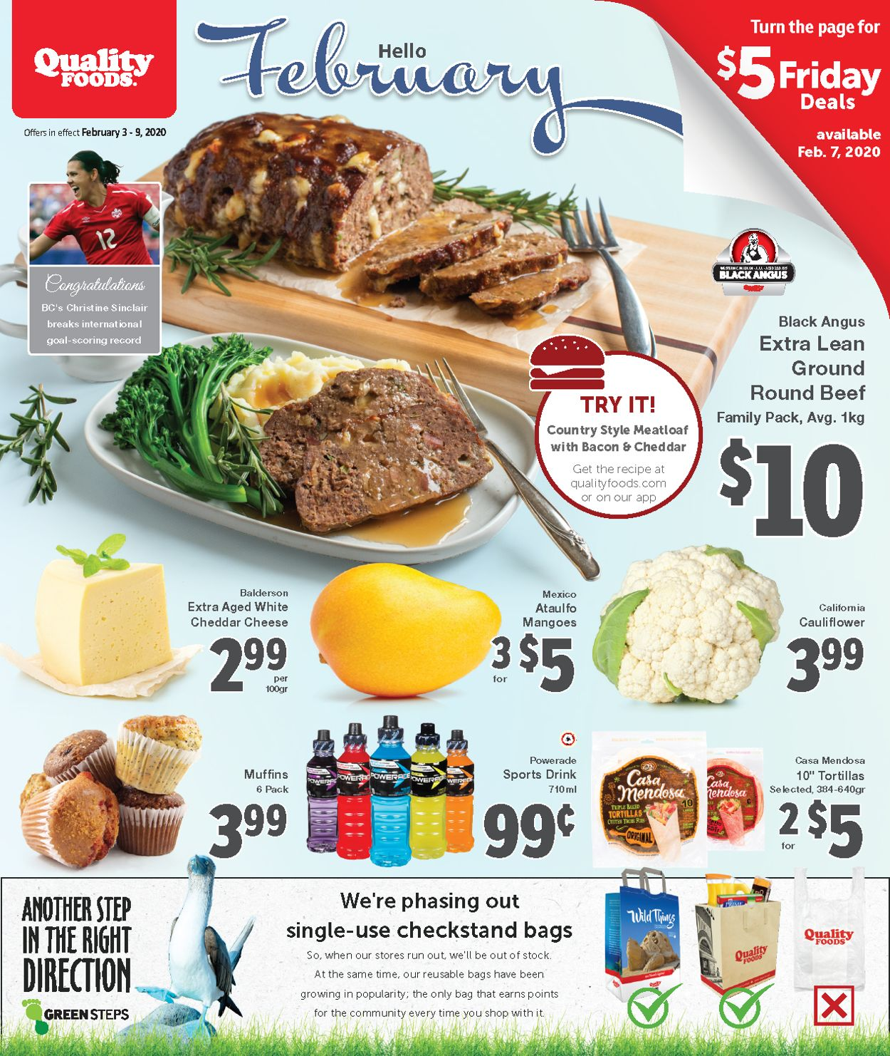 Quality Foods Flyer - 02/03-02/09/2020