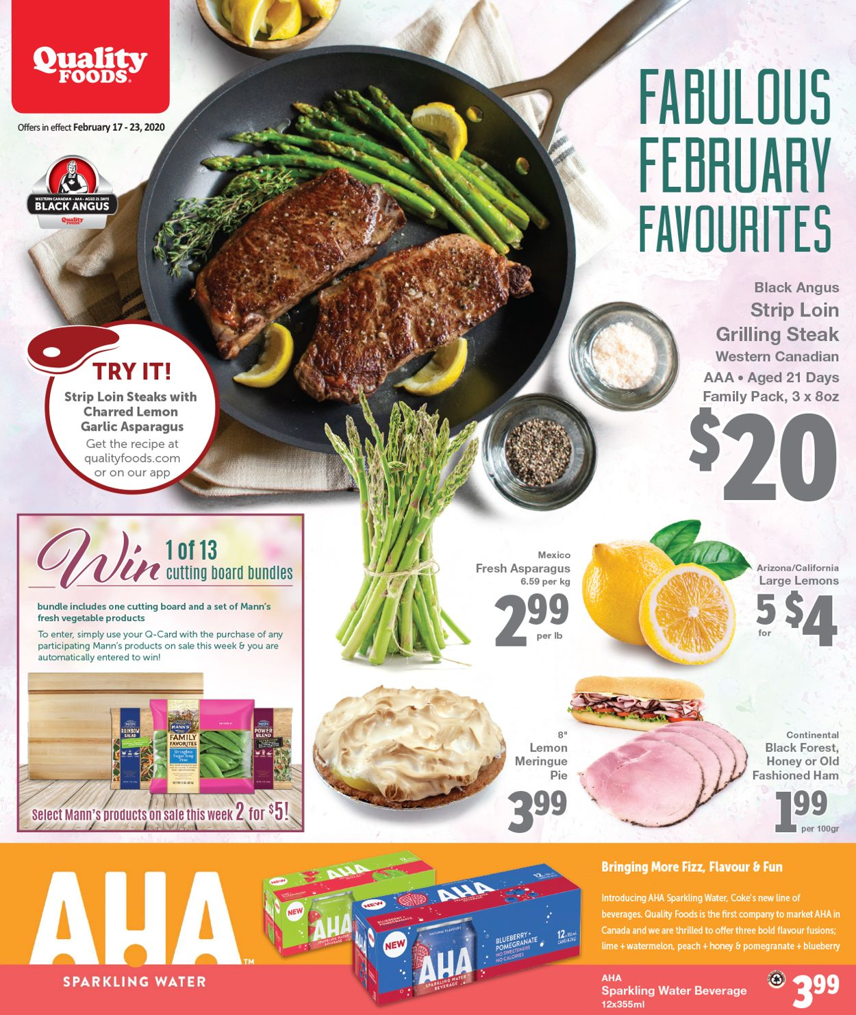 Quality Foods Flyer - 02/17-02/23/2020